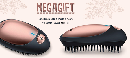 Luxurious ionic hair brush