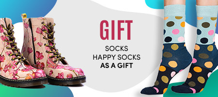Socks by Socks Happy to shoes as a gift