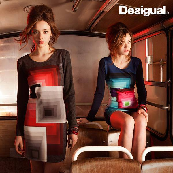 Desigual and play with symmetry