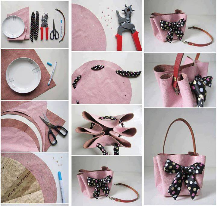 How to make a handbag at home. Source: google.com