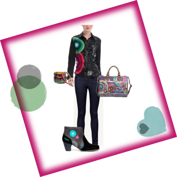 How To Match Outfit - Desigual