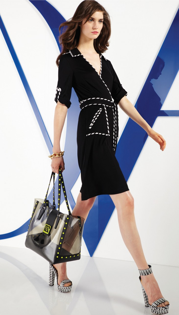 Iconic Wraparound Dress Diane von Furstenberg