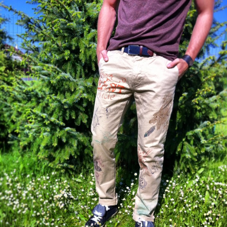Men's Scotch and Soda trousers