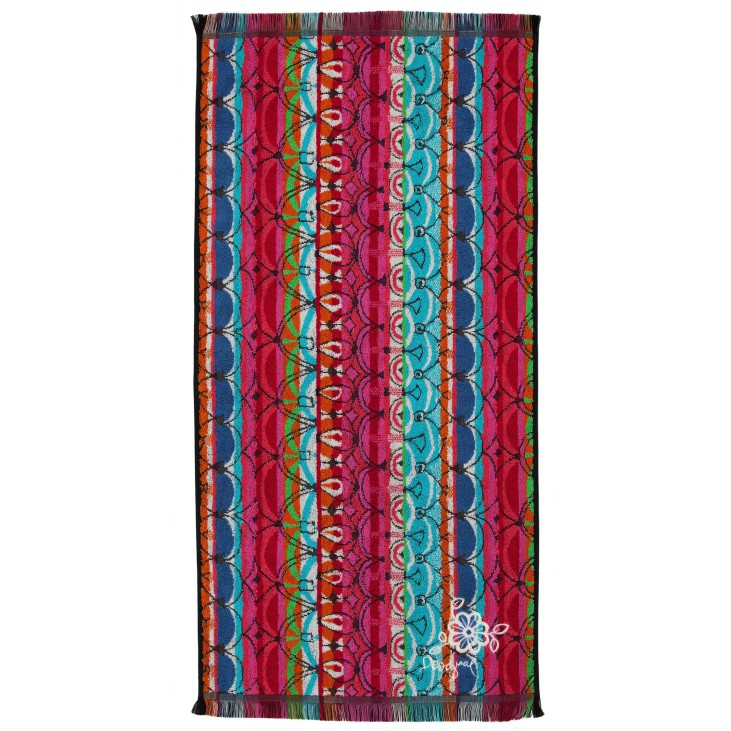 Desigual towel colored