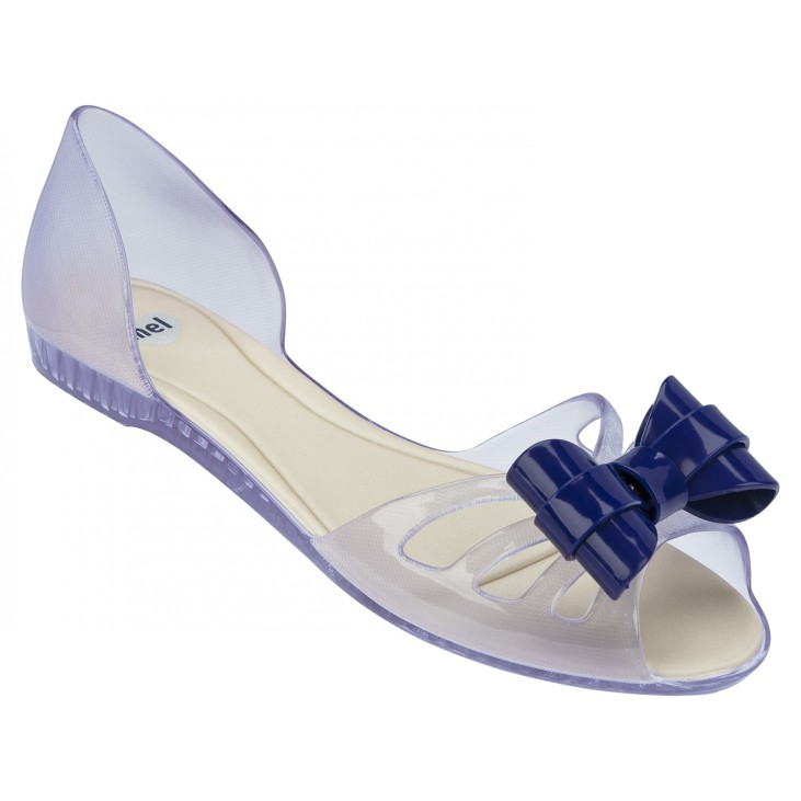 Mel Move Bow Blue / Clear