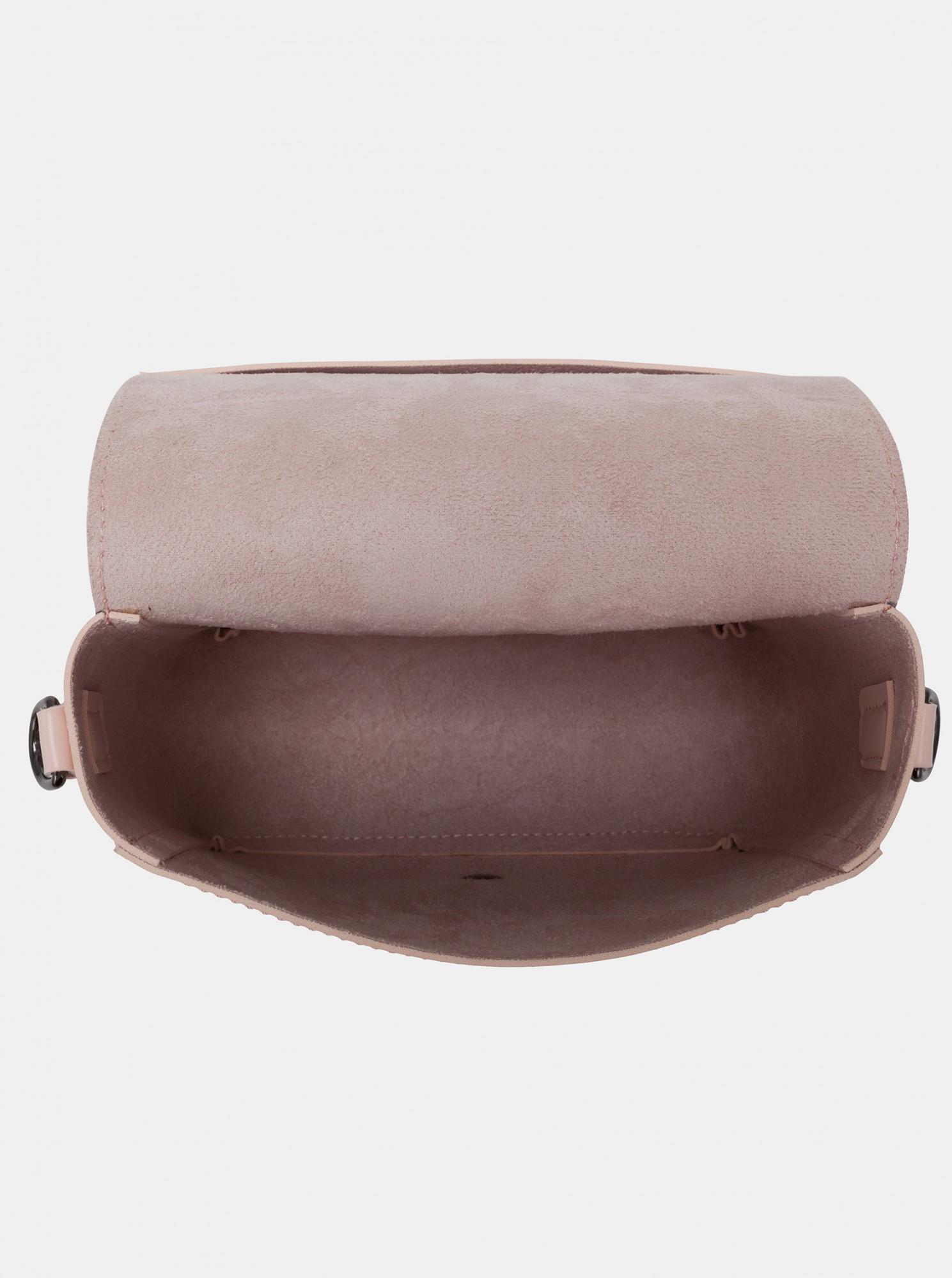 Claudia Canova pink crossbody handbag
