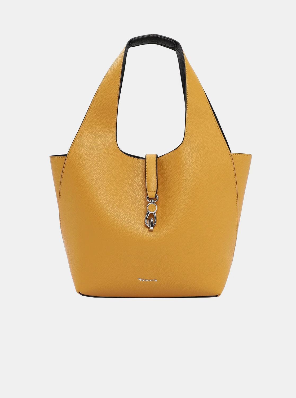 Tamaris yellow reversible shopper