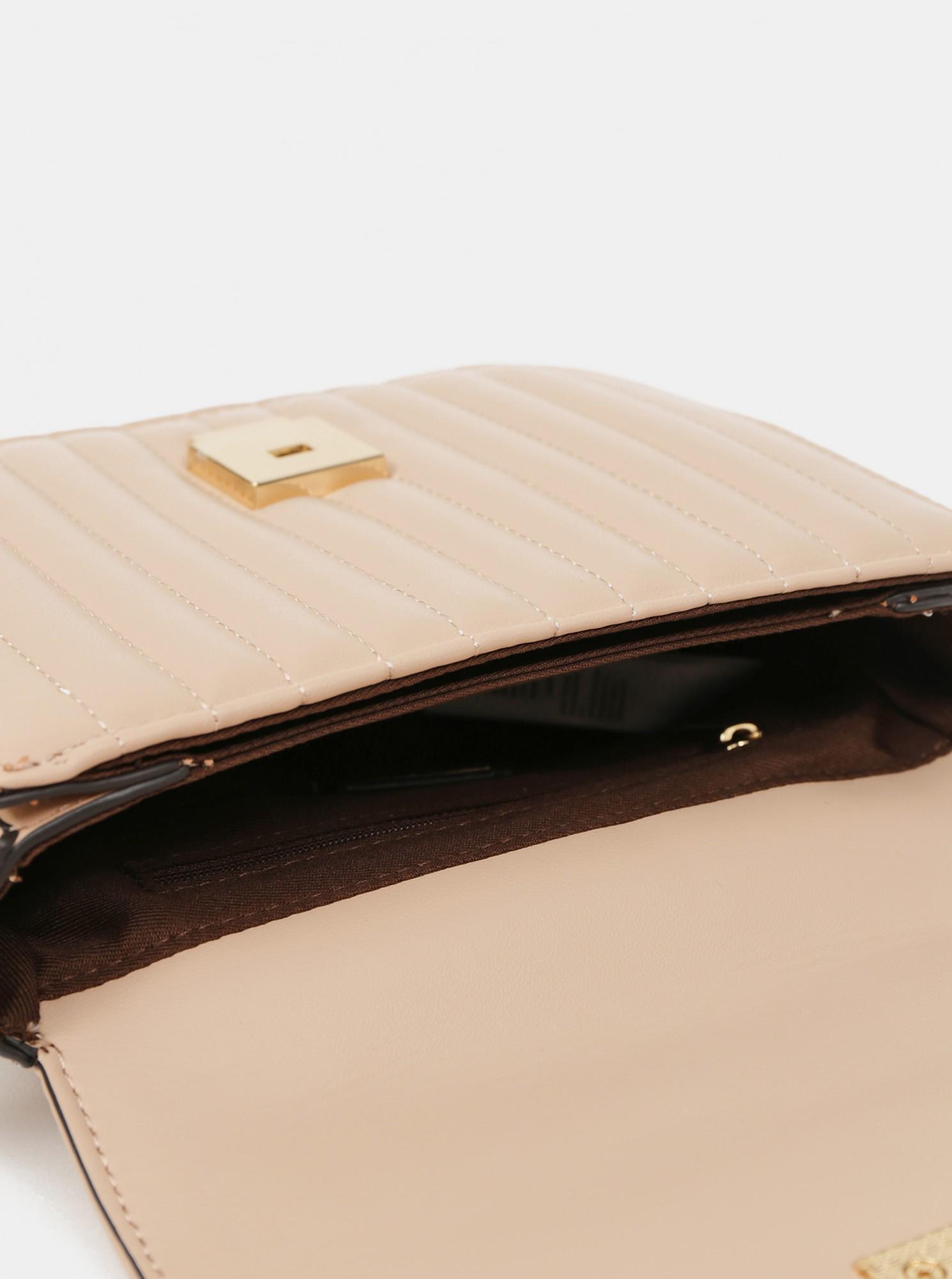 ALDO beige crossbody handbag Erigossa