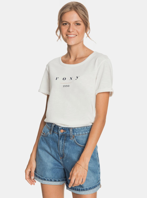 Roxy white T-shirt with print