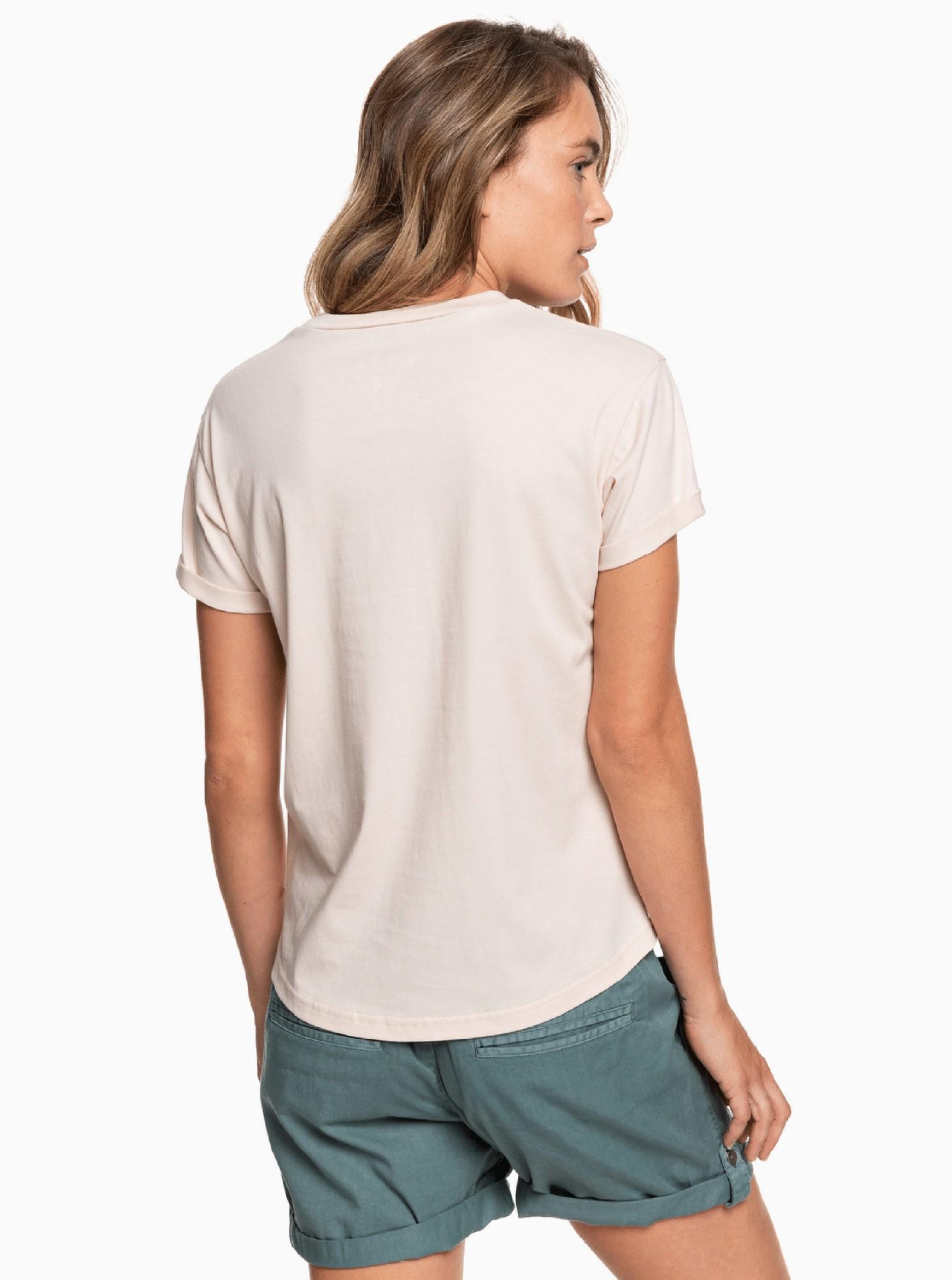 Roxy powdery T-shirt with print