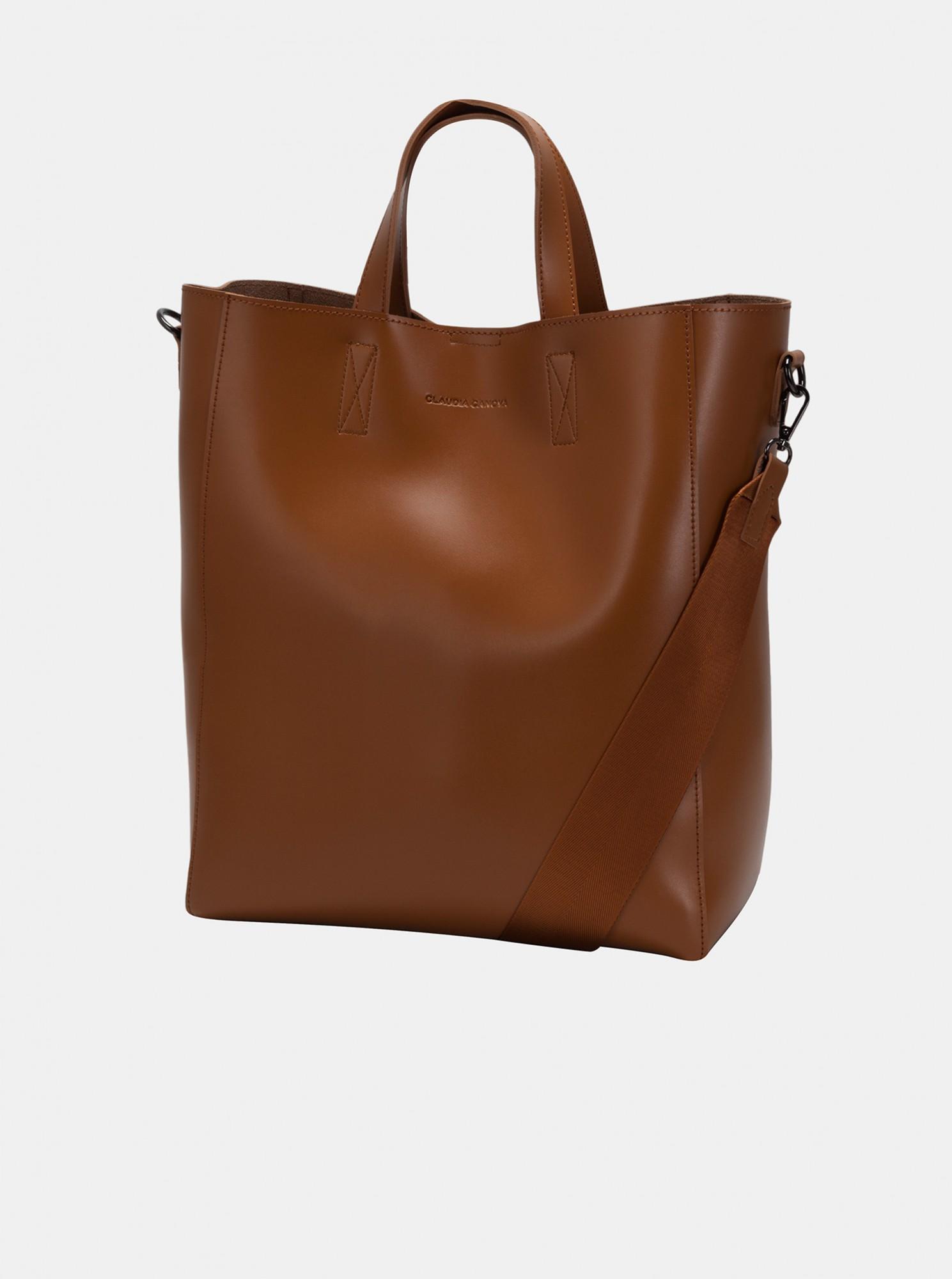 Claudia Canova brown large handbag