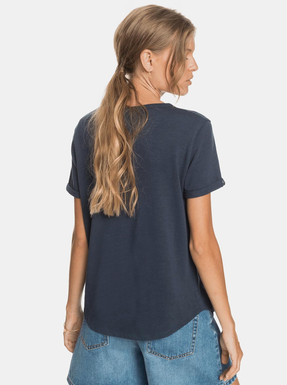 Roxy blue T-shirt with print