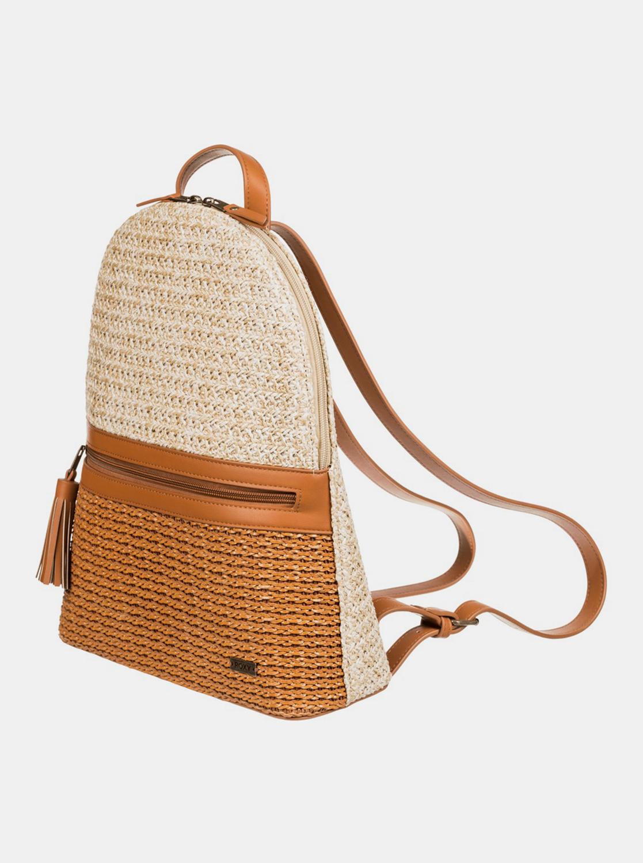 Roxy beige backpack