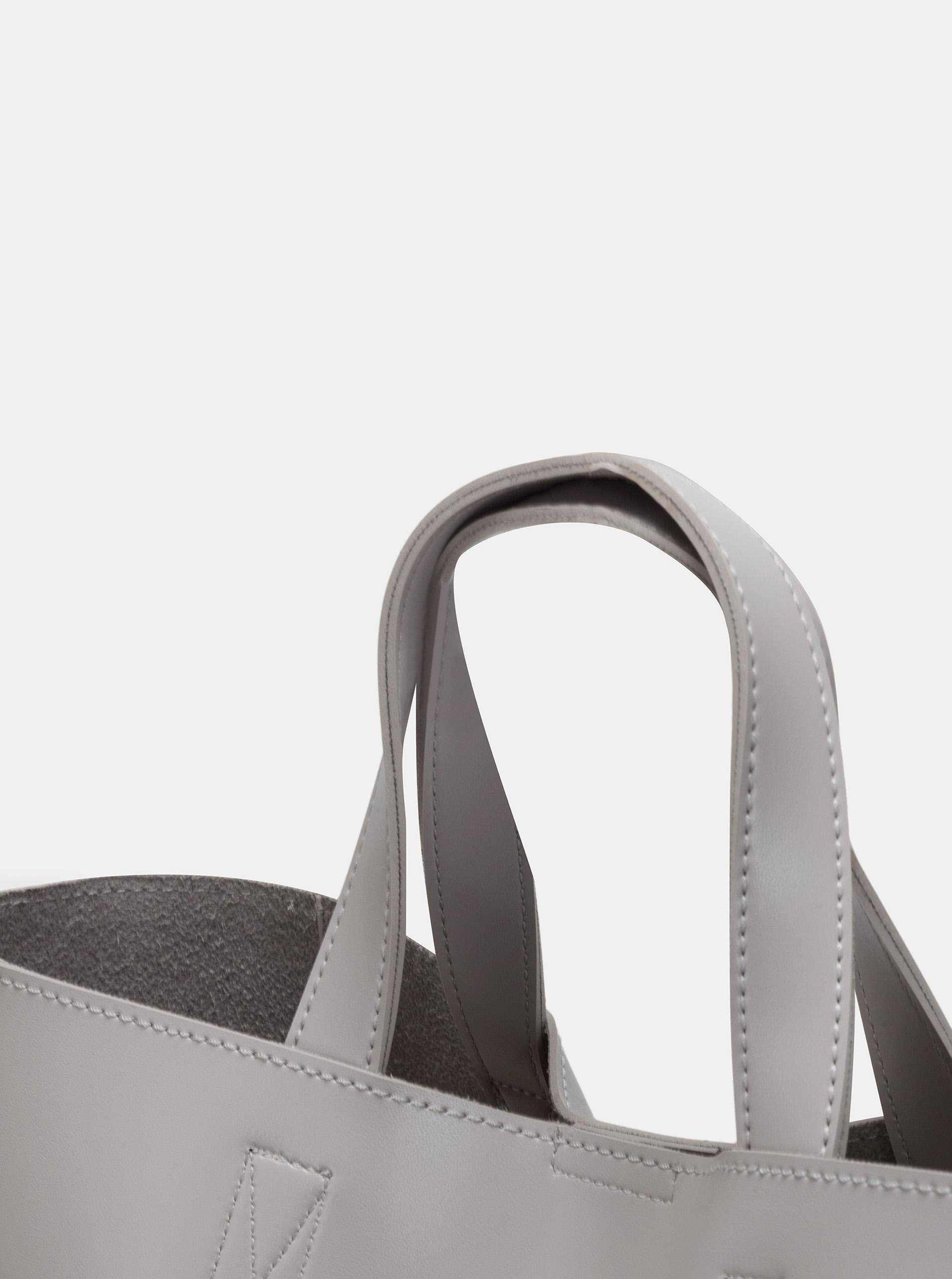Claudia Canova grey large handbag