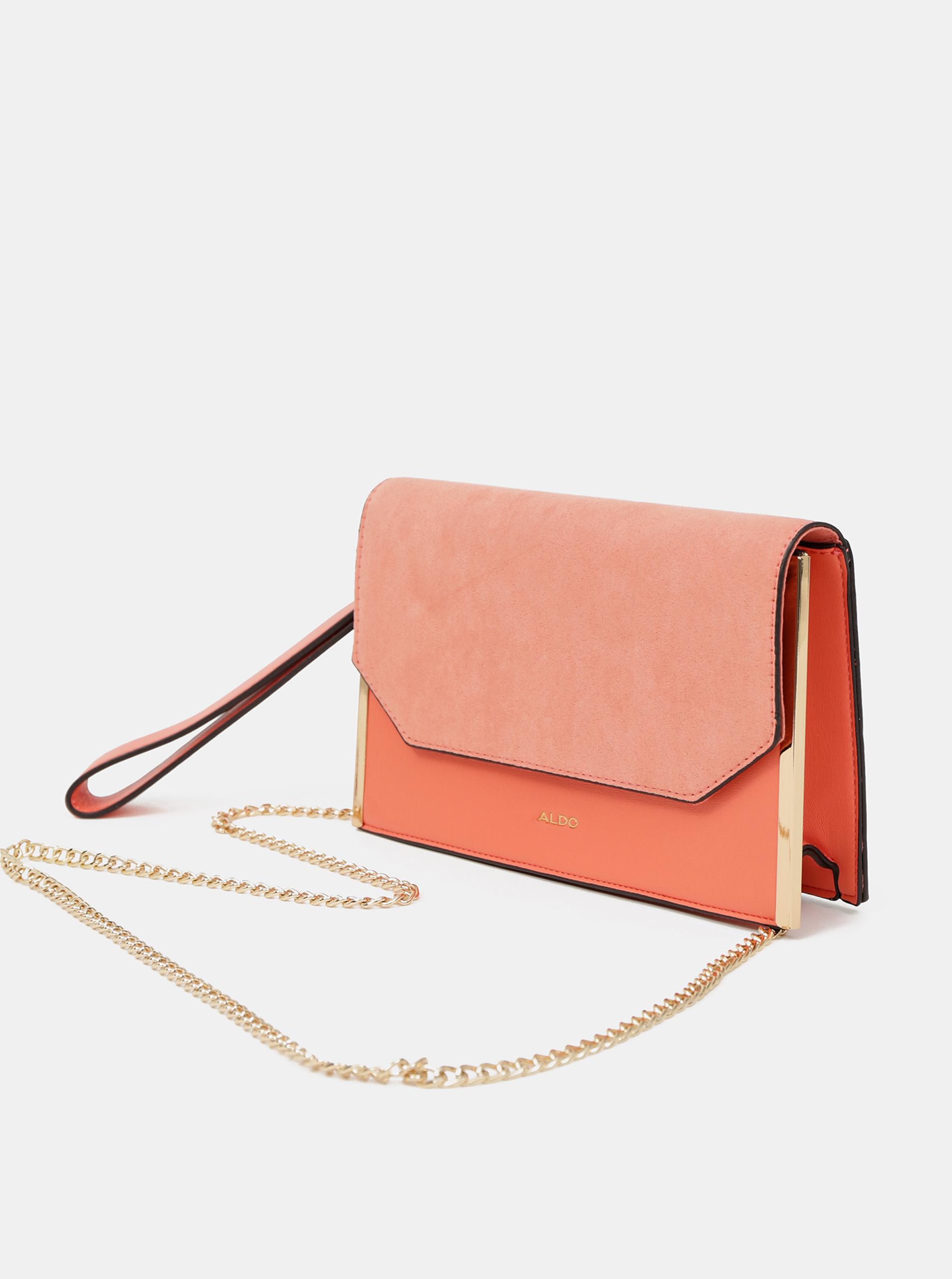 ALDO orange crossbody handbag Jeralla