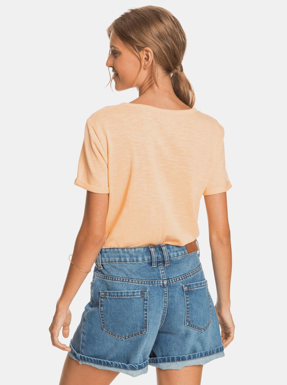 Roxy orange T-shirt with print