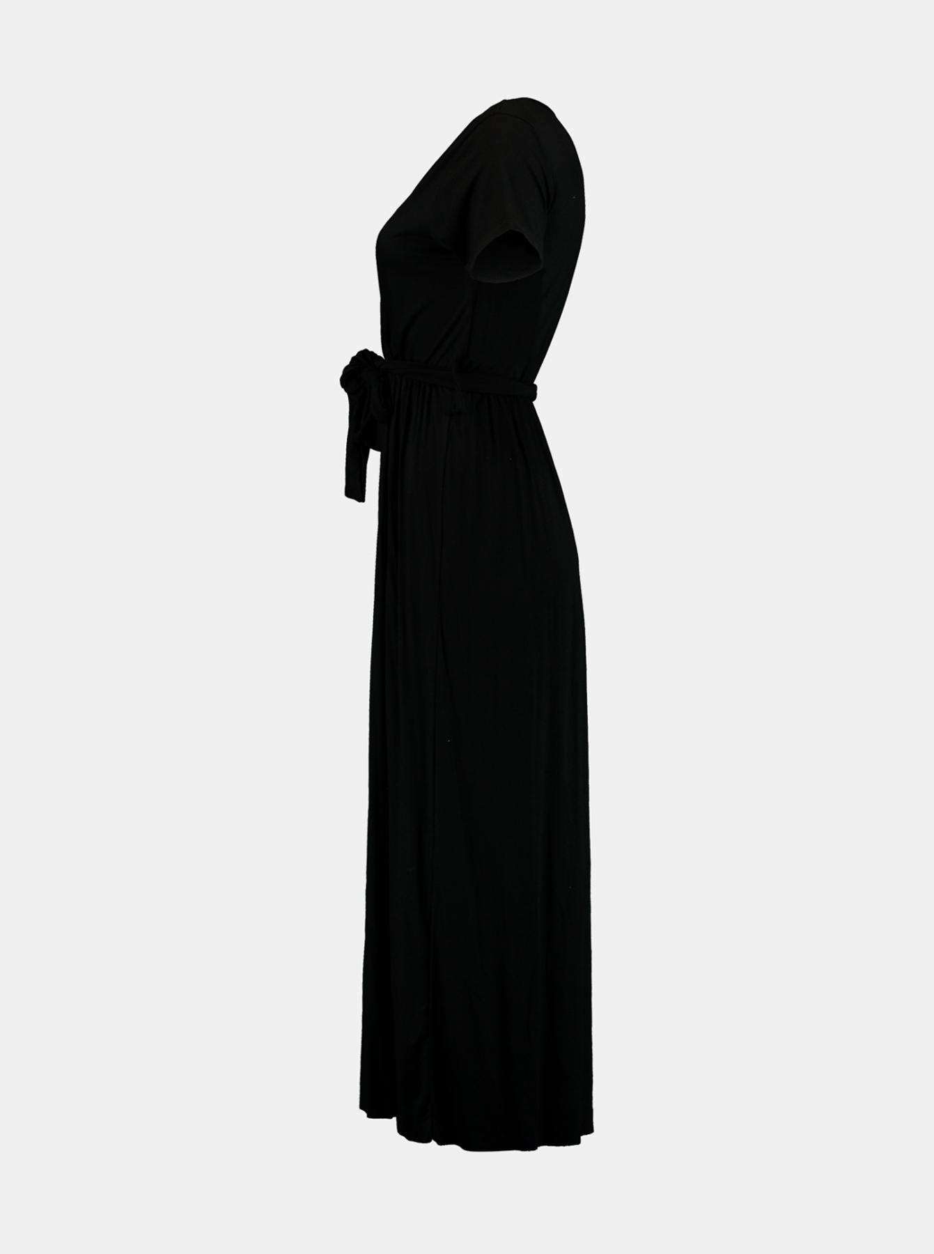 Hailys black maxi dress