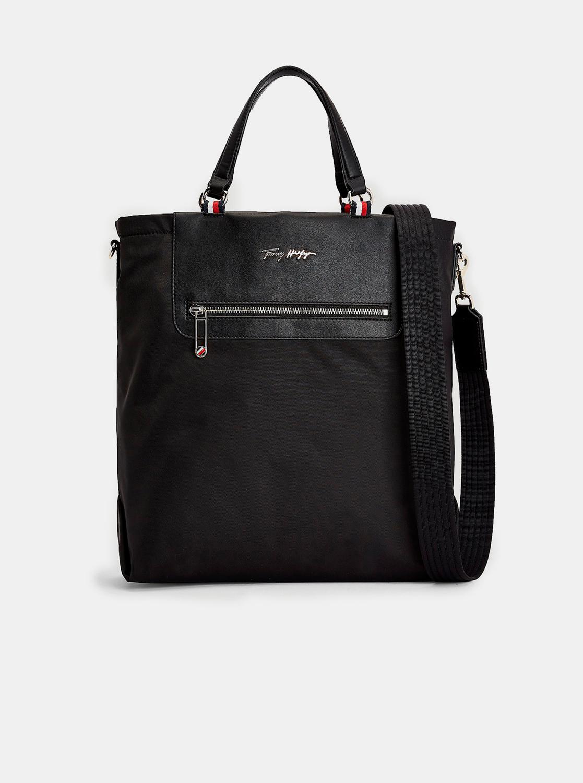 Tommy Hilfiger black large handbag