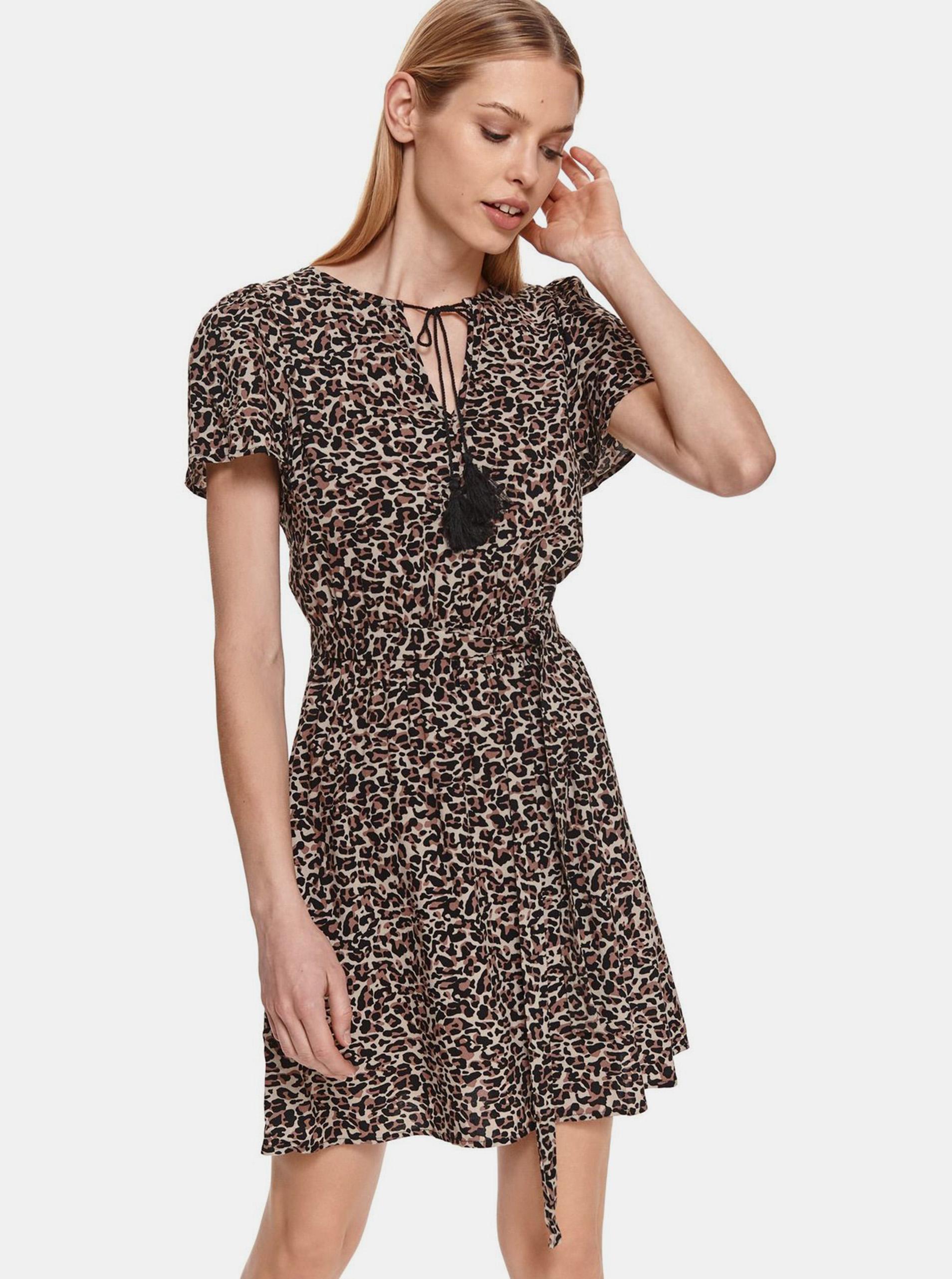 TOP SECRET brown dress