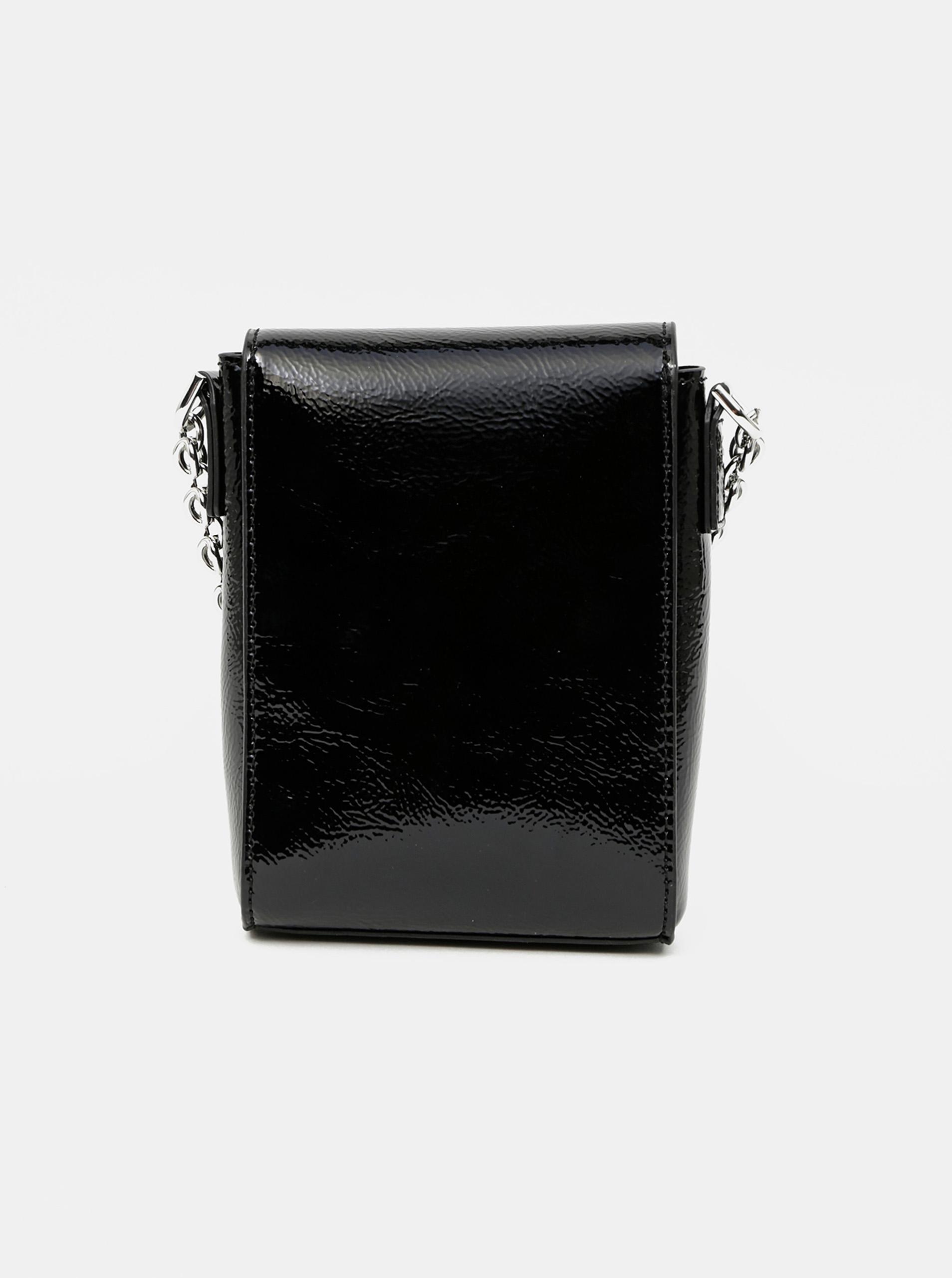 Calvin Klein black crossbody small handbag