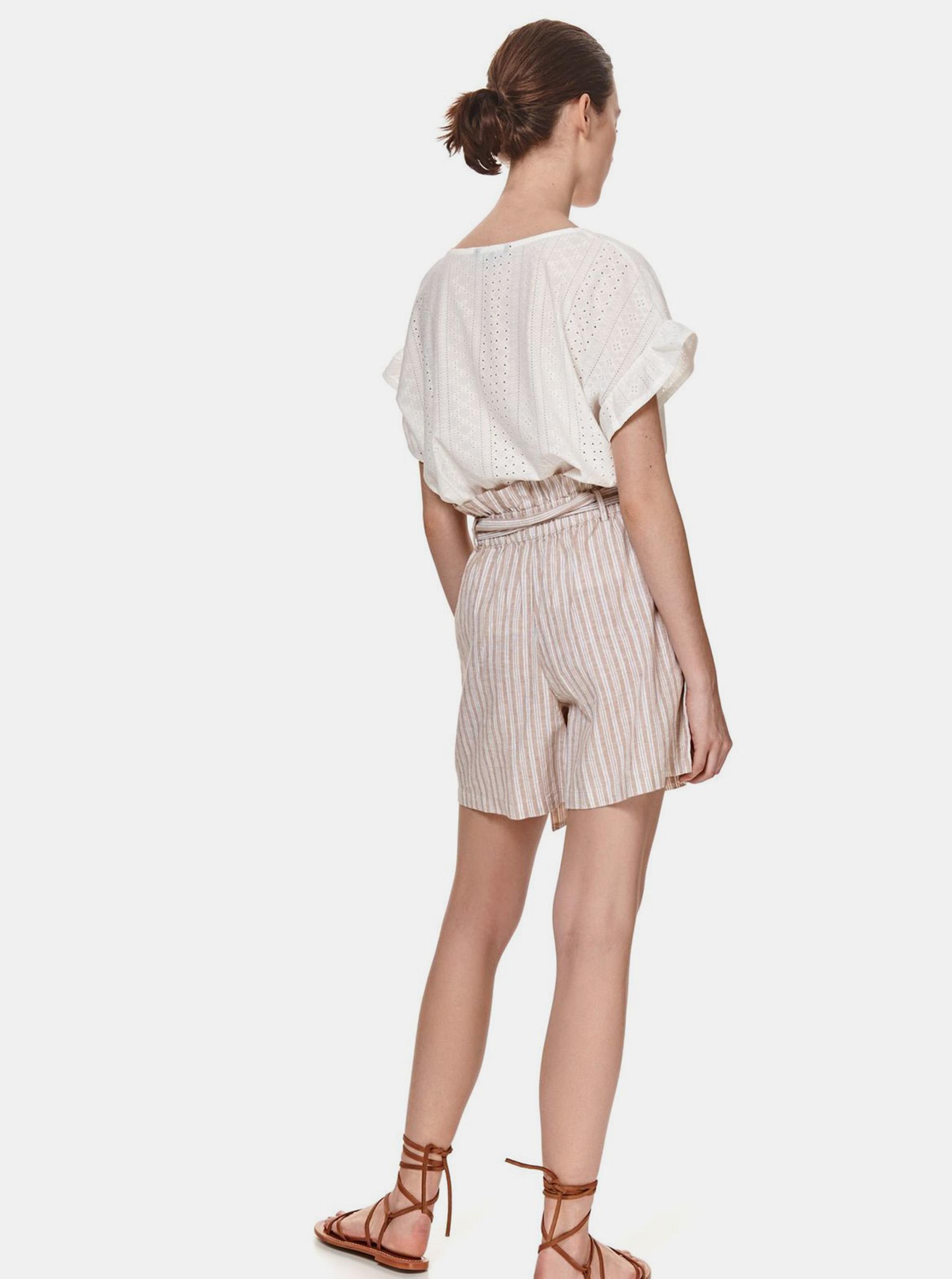 TOP SECRET white blouse s madeirou