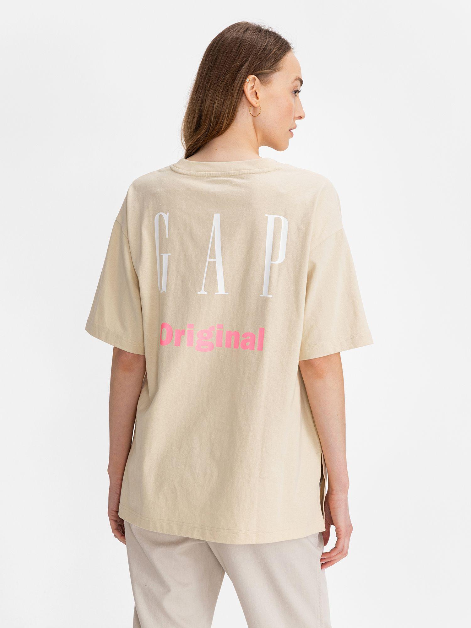 GAP beige T-shirt Logo