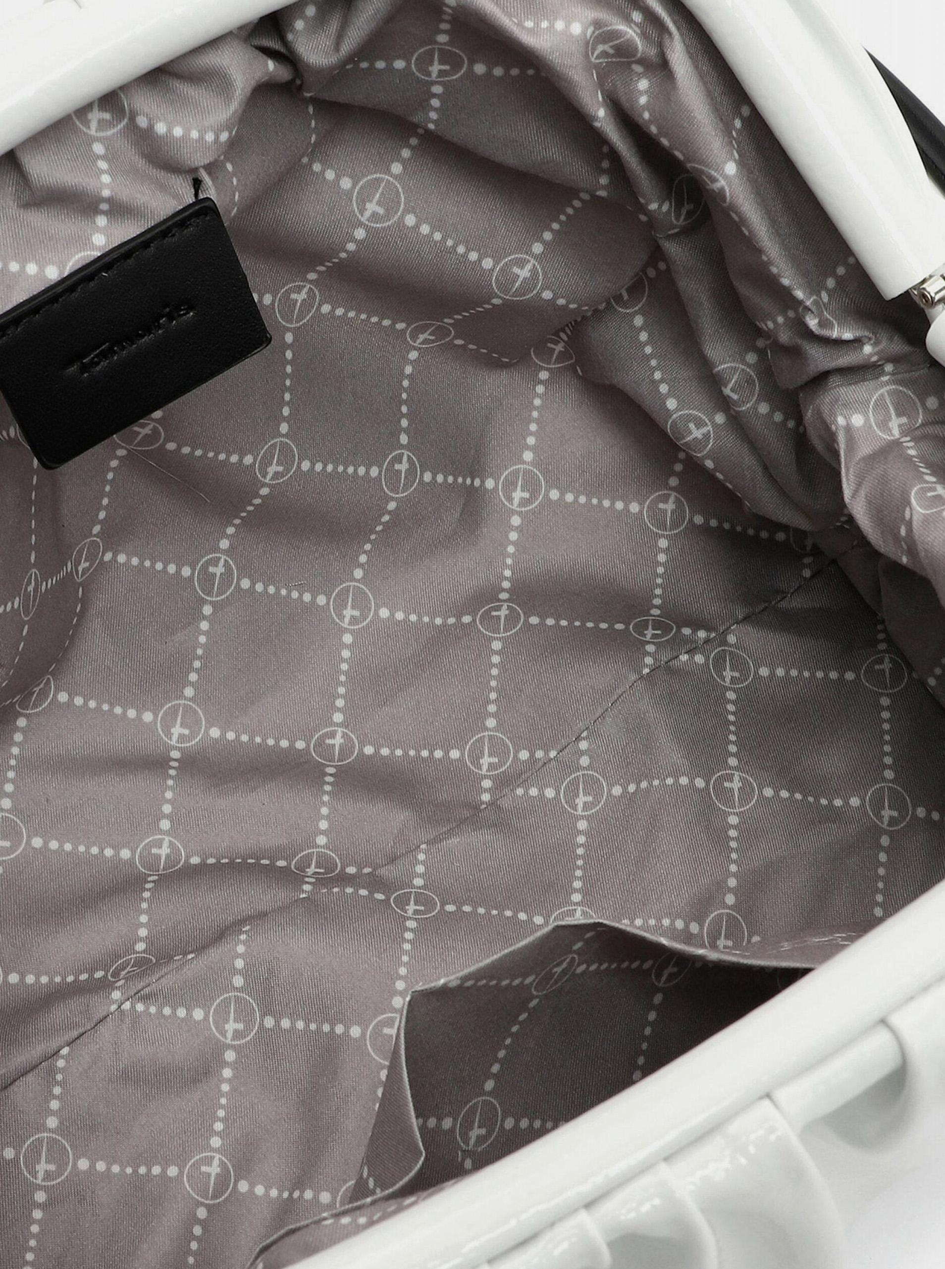 Tamaris white small crossbody handbag