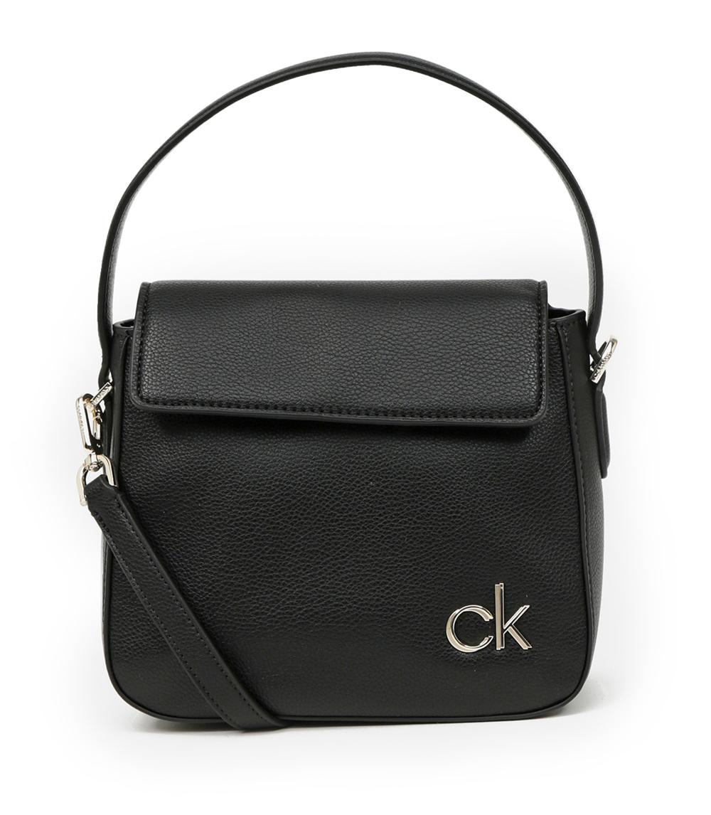Calvin Klein black handbag Hobo W/Flap