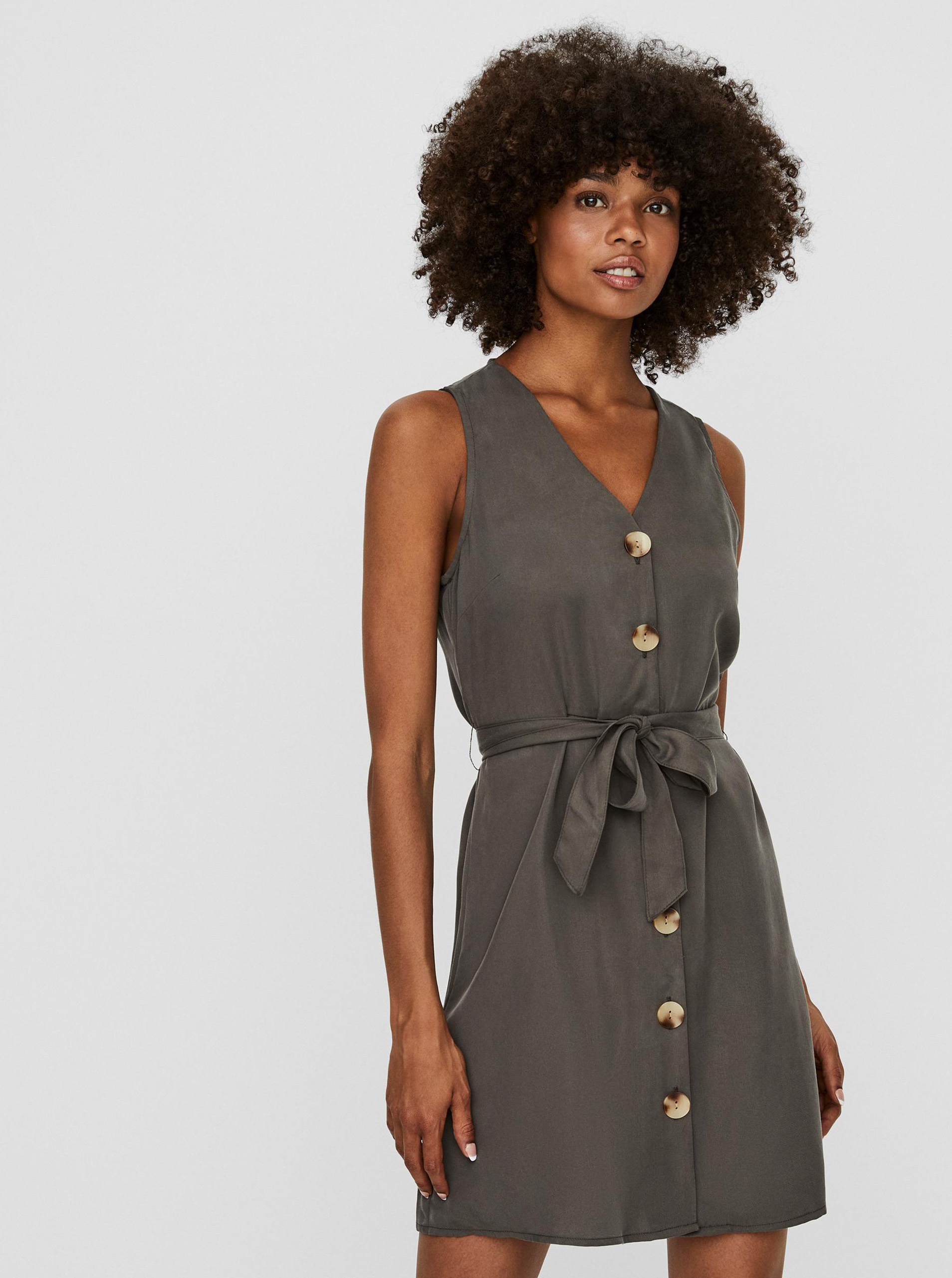 Vero Moda grey dress Viviana