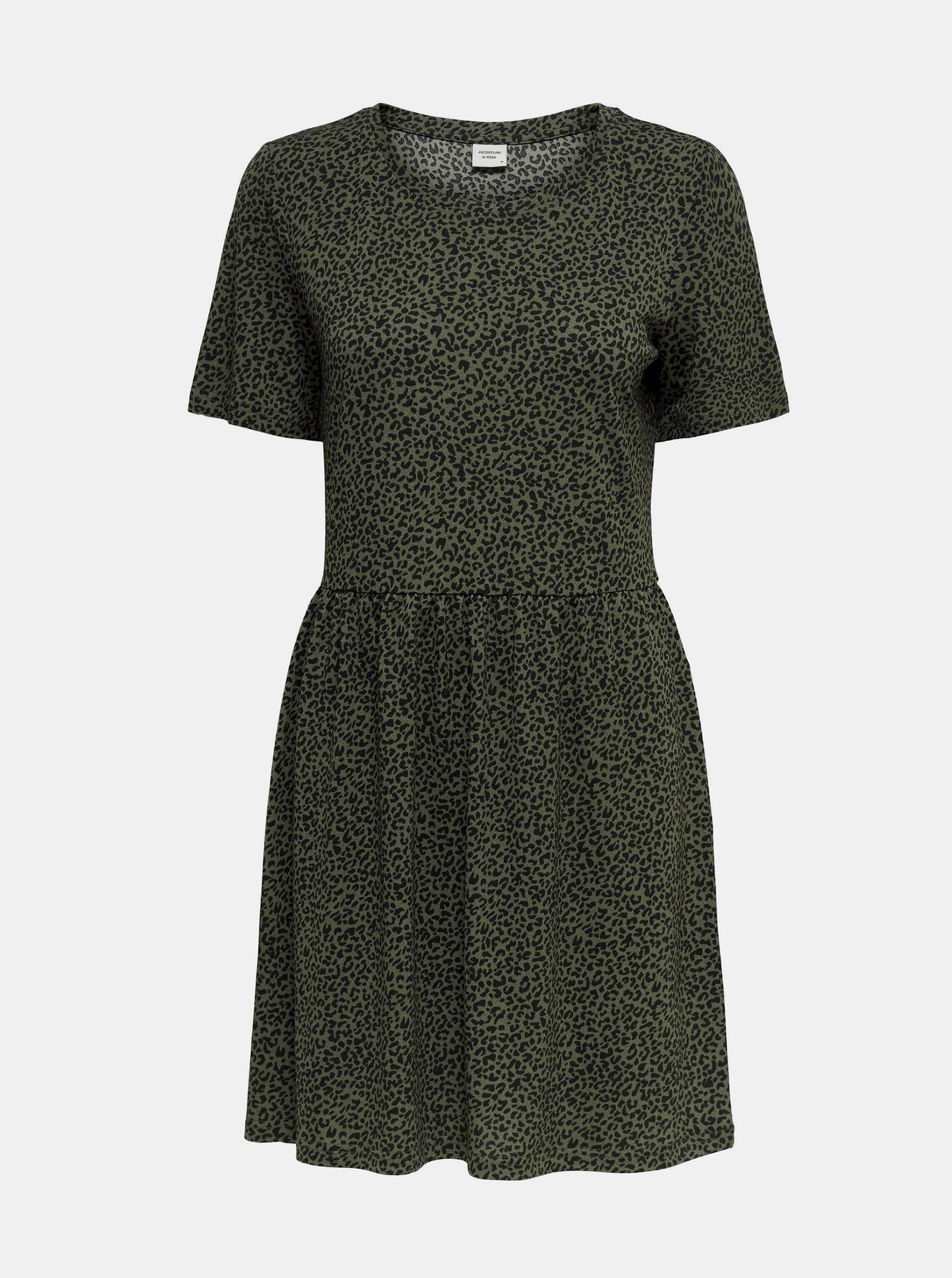 Jacqueline de Yong green dress patterned