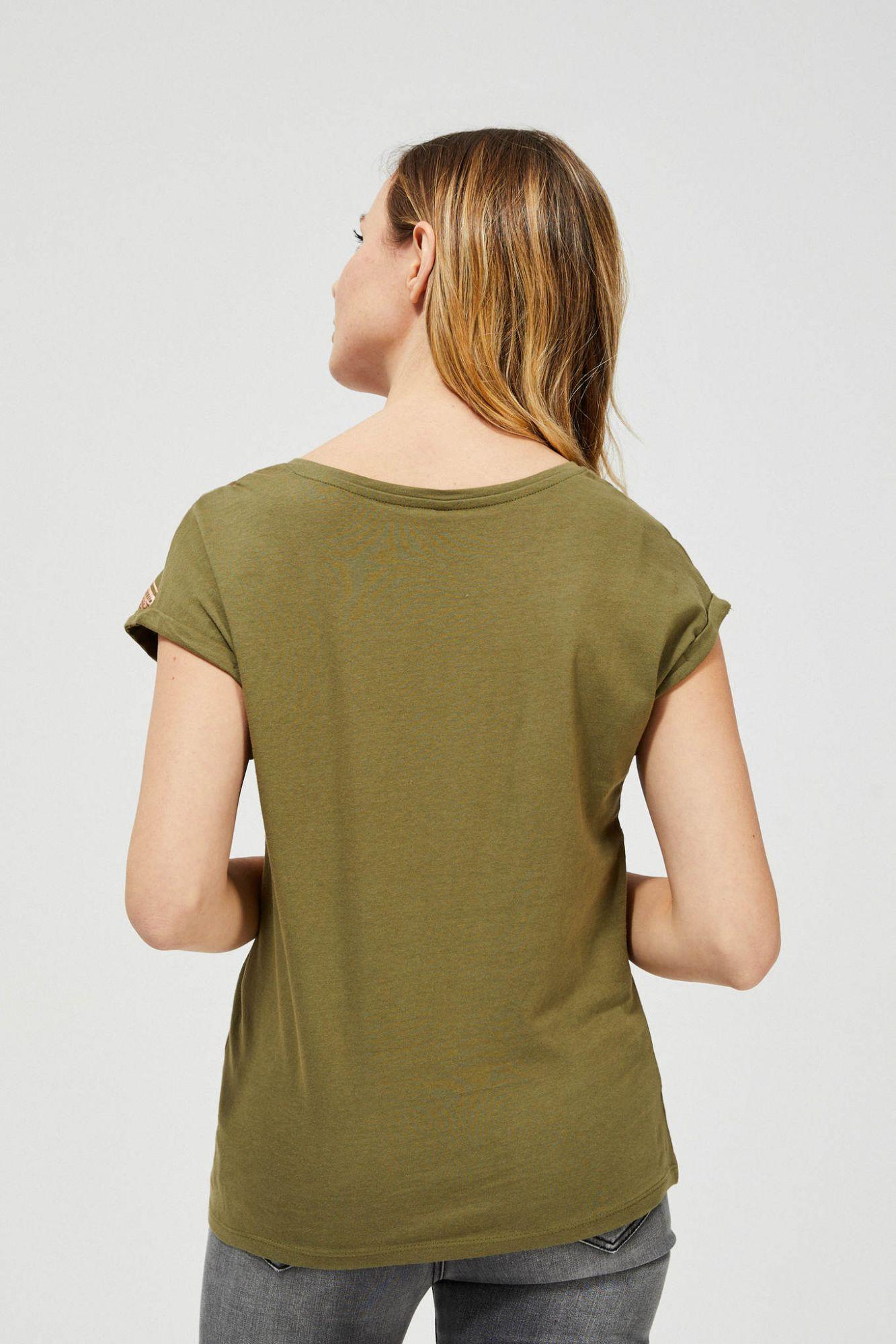 Moodo khaki T-shirt