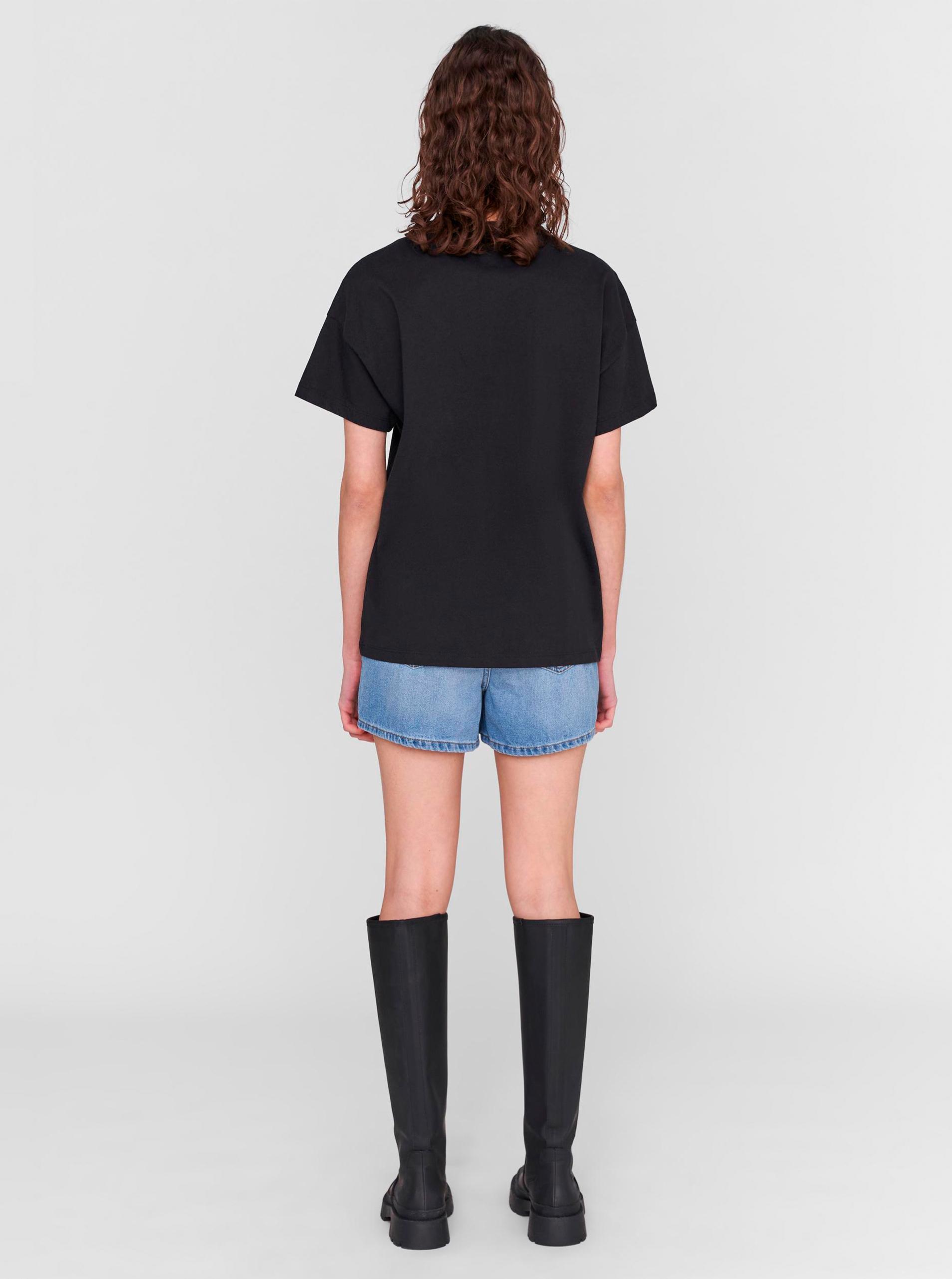 Noisy May black women´s T-shirt Wendy