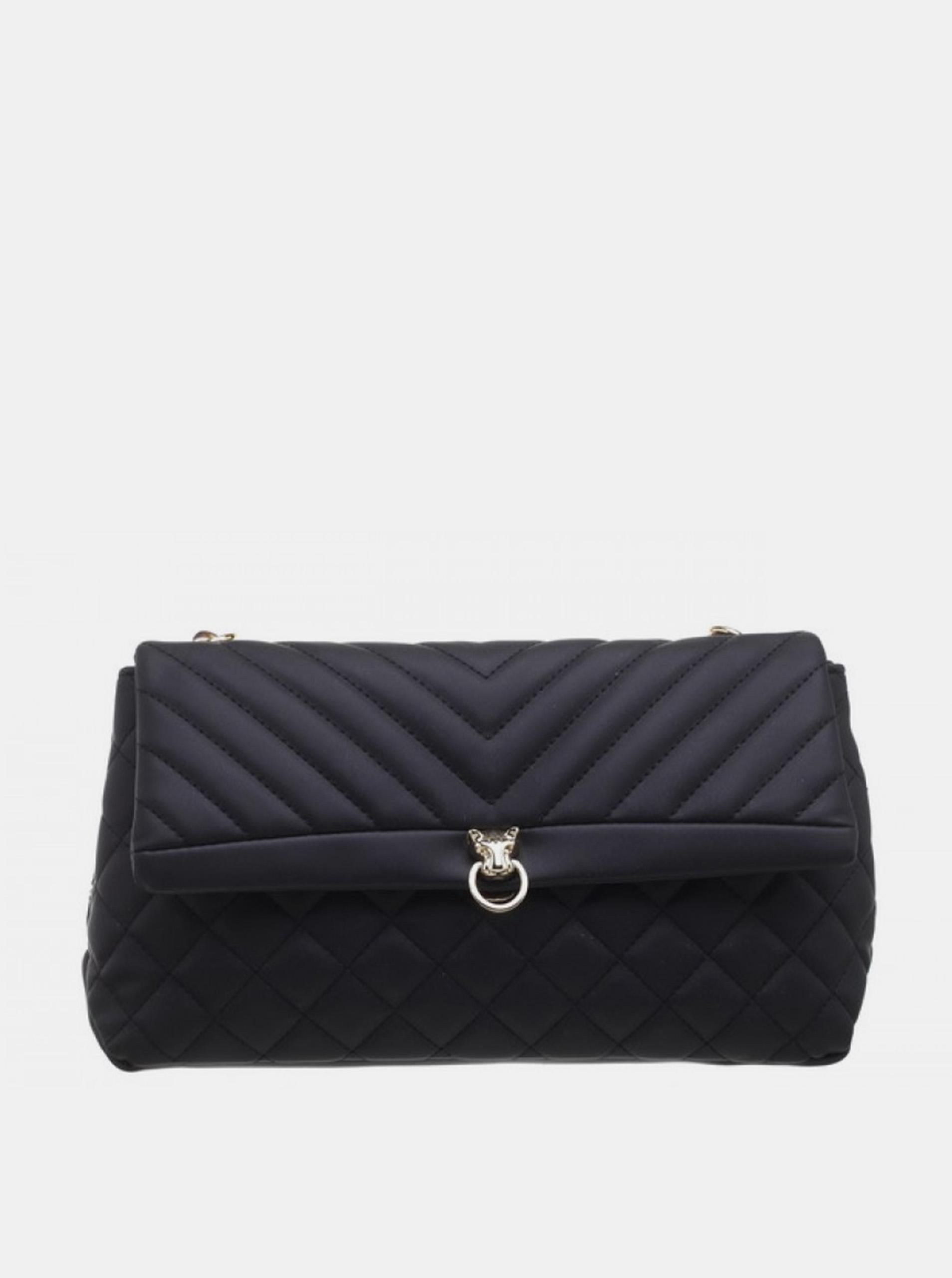 Bessie London black clutch