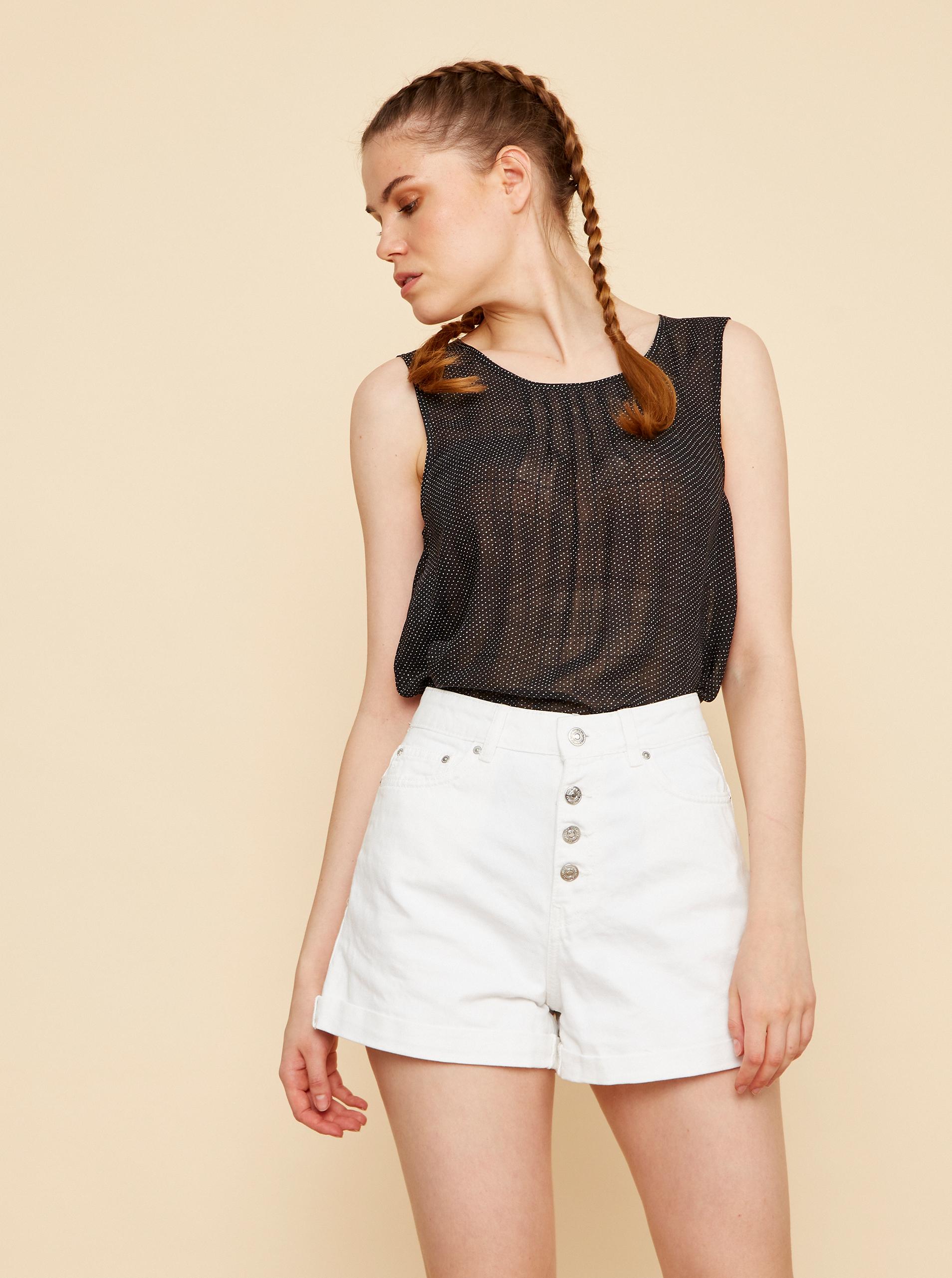 ZOOT black blouse Tina