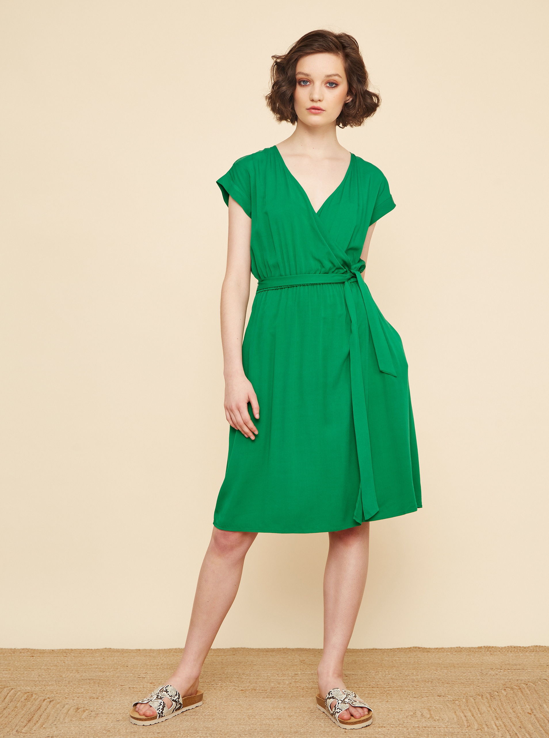ZOOT green dress Vera