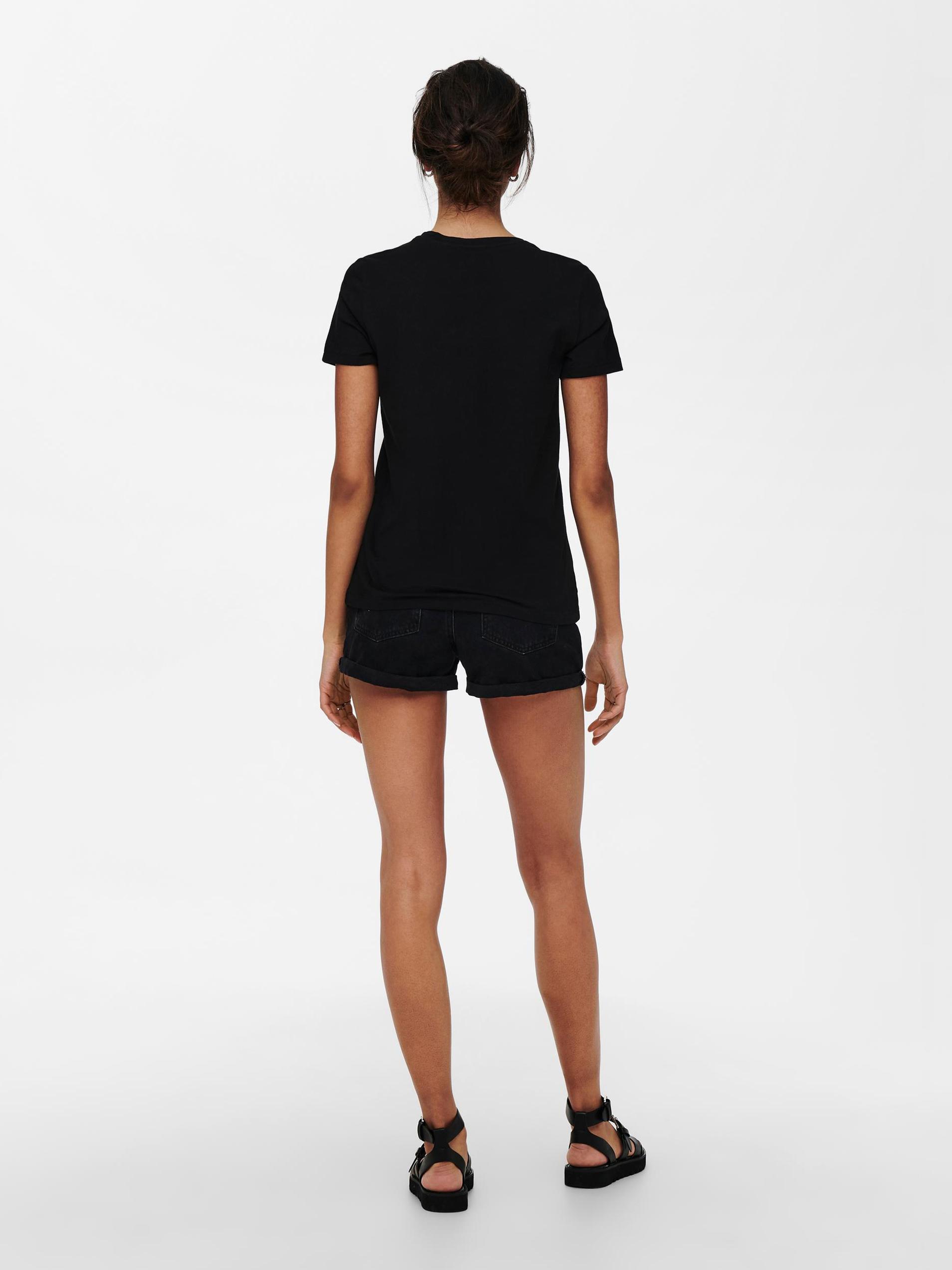 Only black women´s T-shirt Lana
