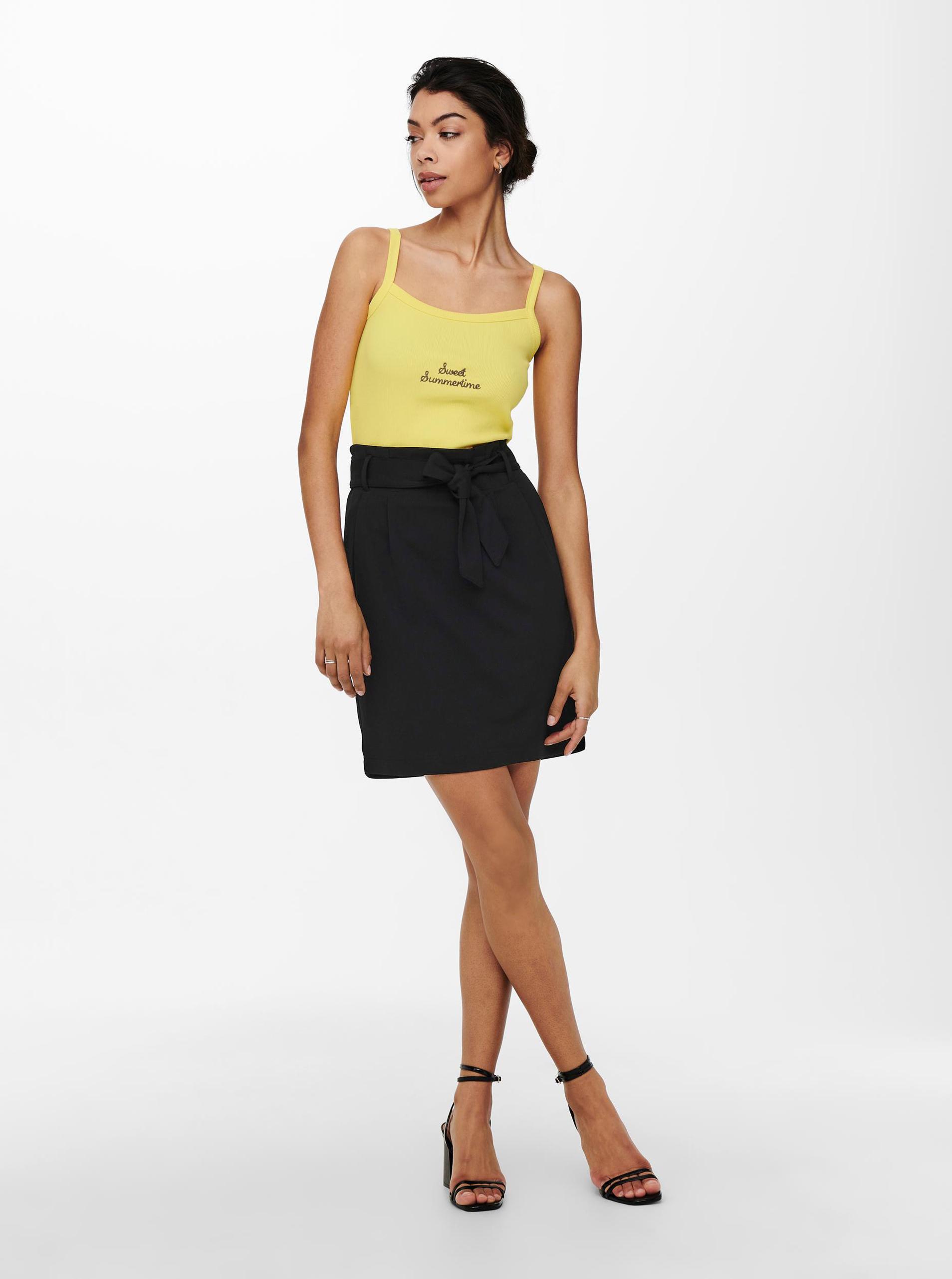 Only yellow women´s top Clara