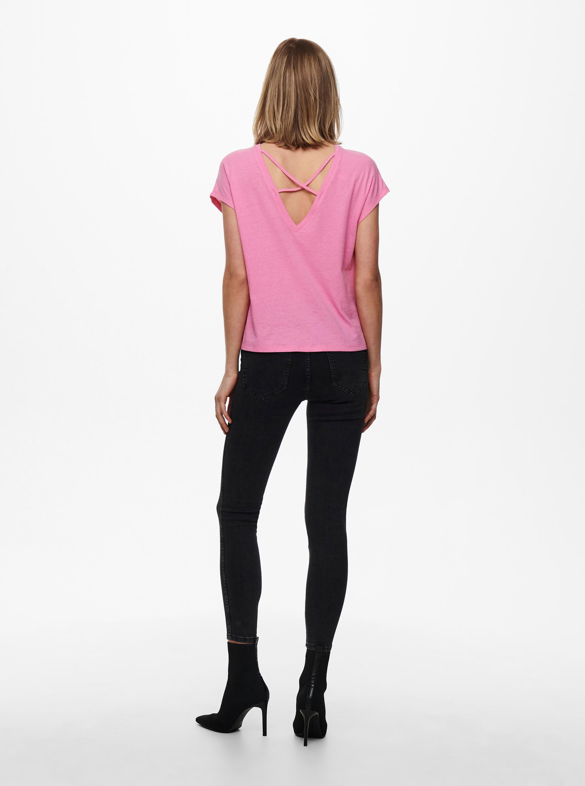 Only pink women´s T-shirt Ama