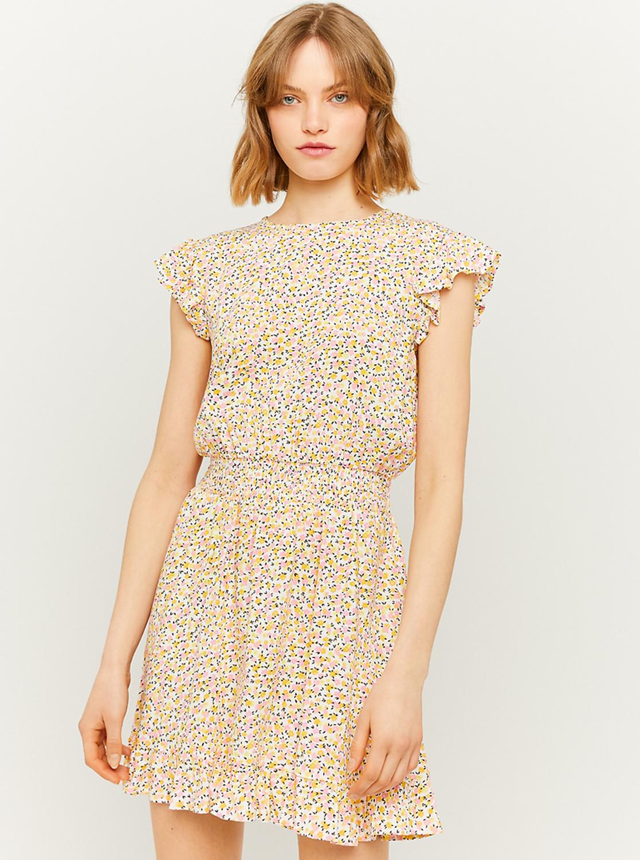 Tally Weijl yellow flowered dress