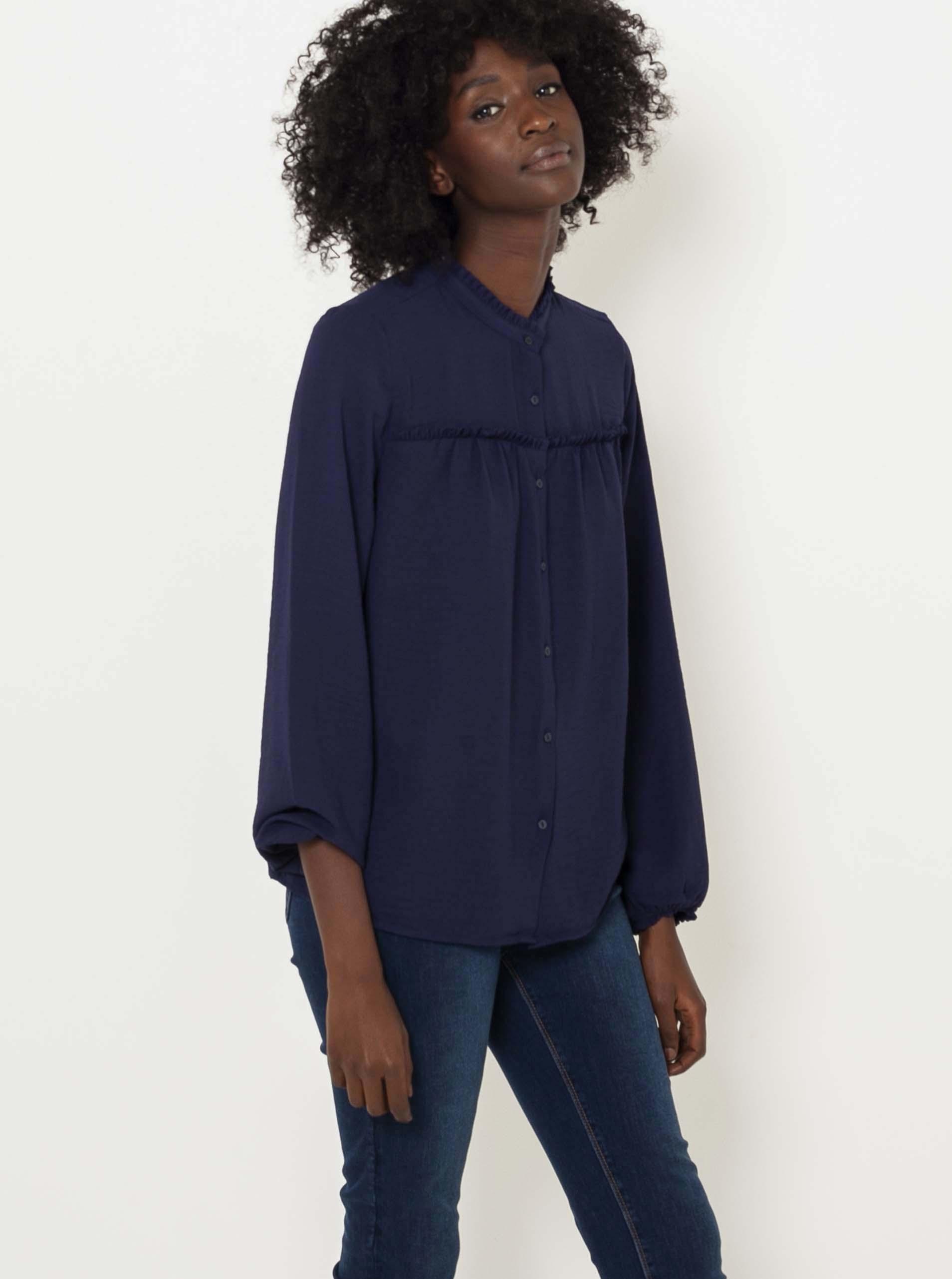 CAMAIEU blue women´s blouse