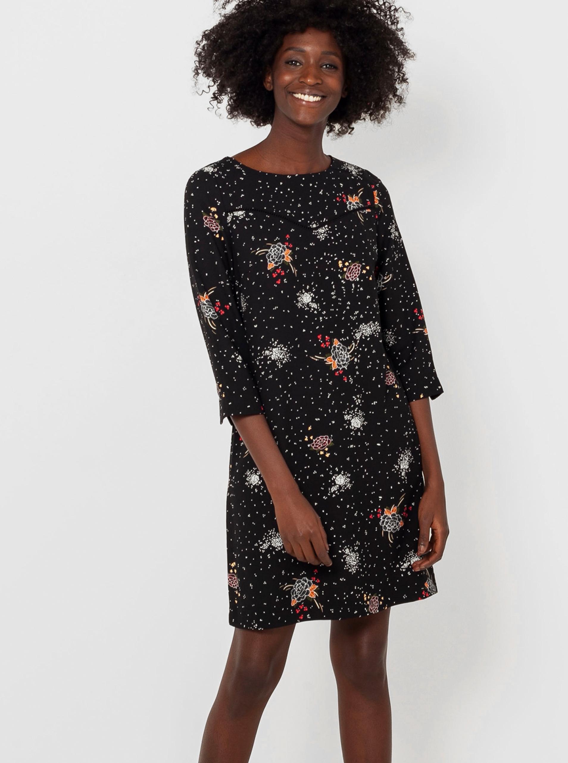 CAMAIEU black flowered dress