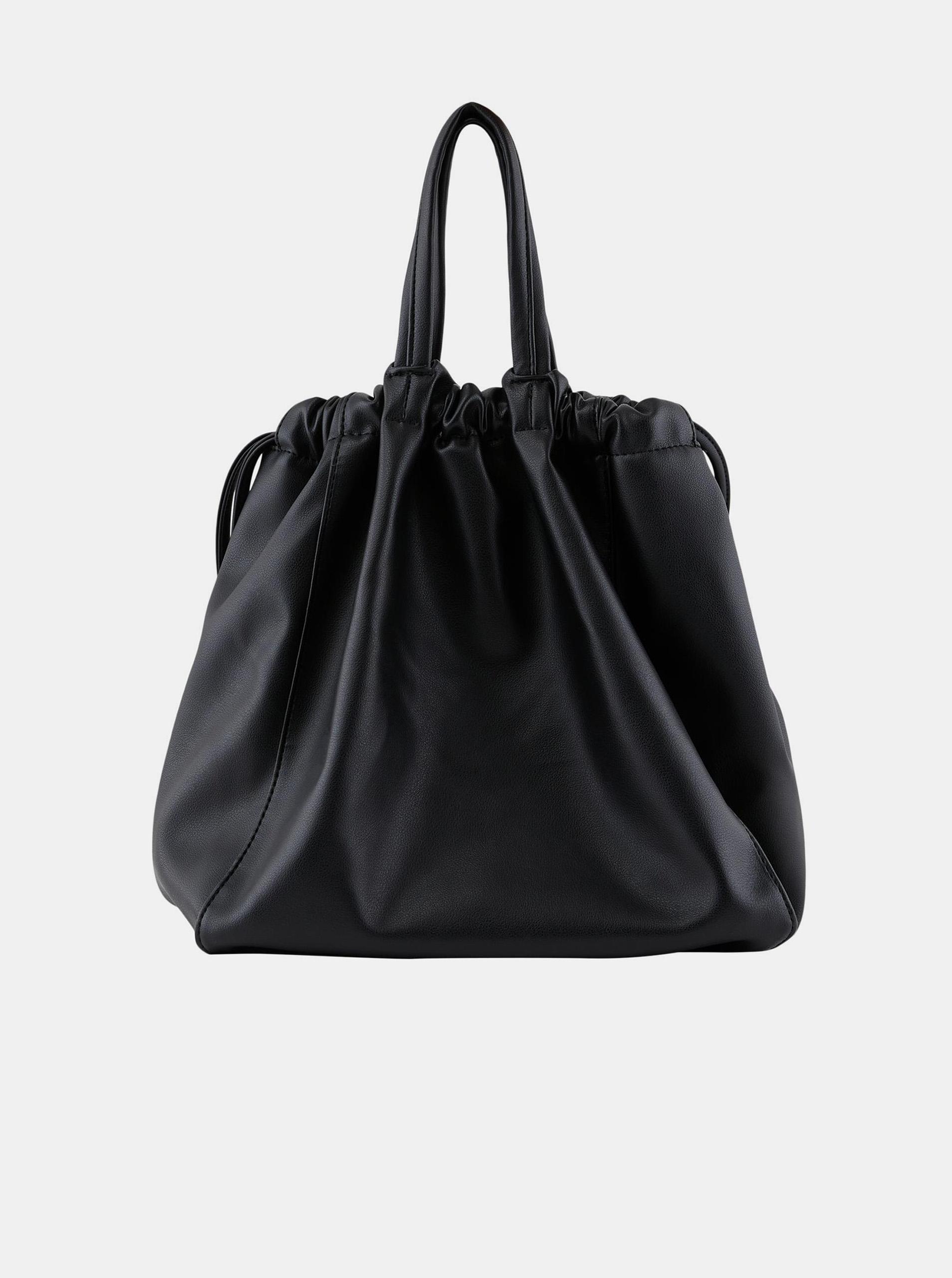 Pieces black drawstring bag Talli