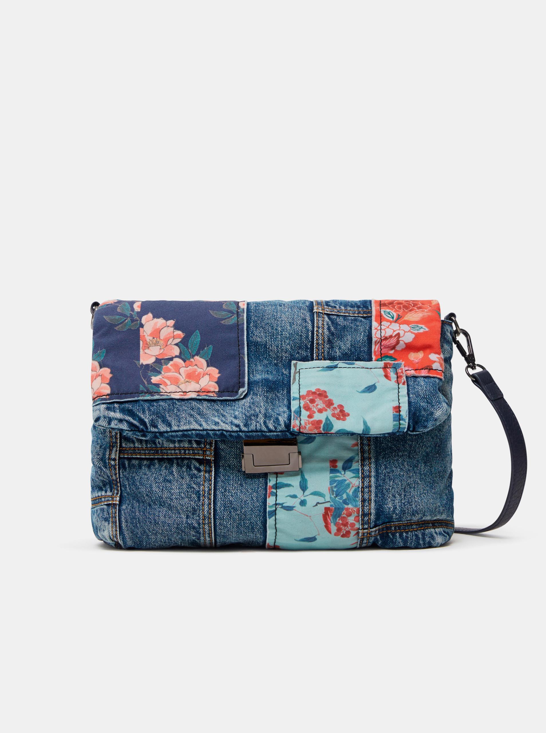 Desigual blue crossbody handbag Beta Patch Vera