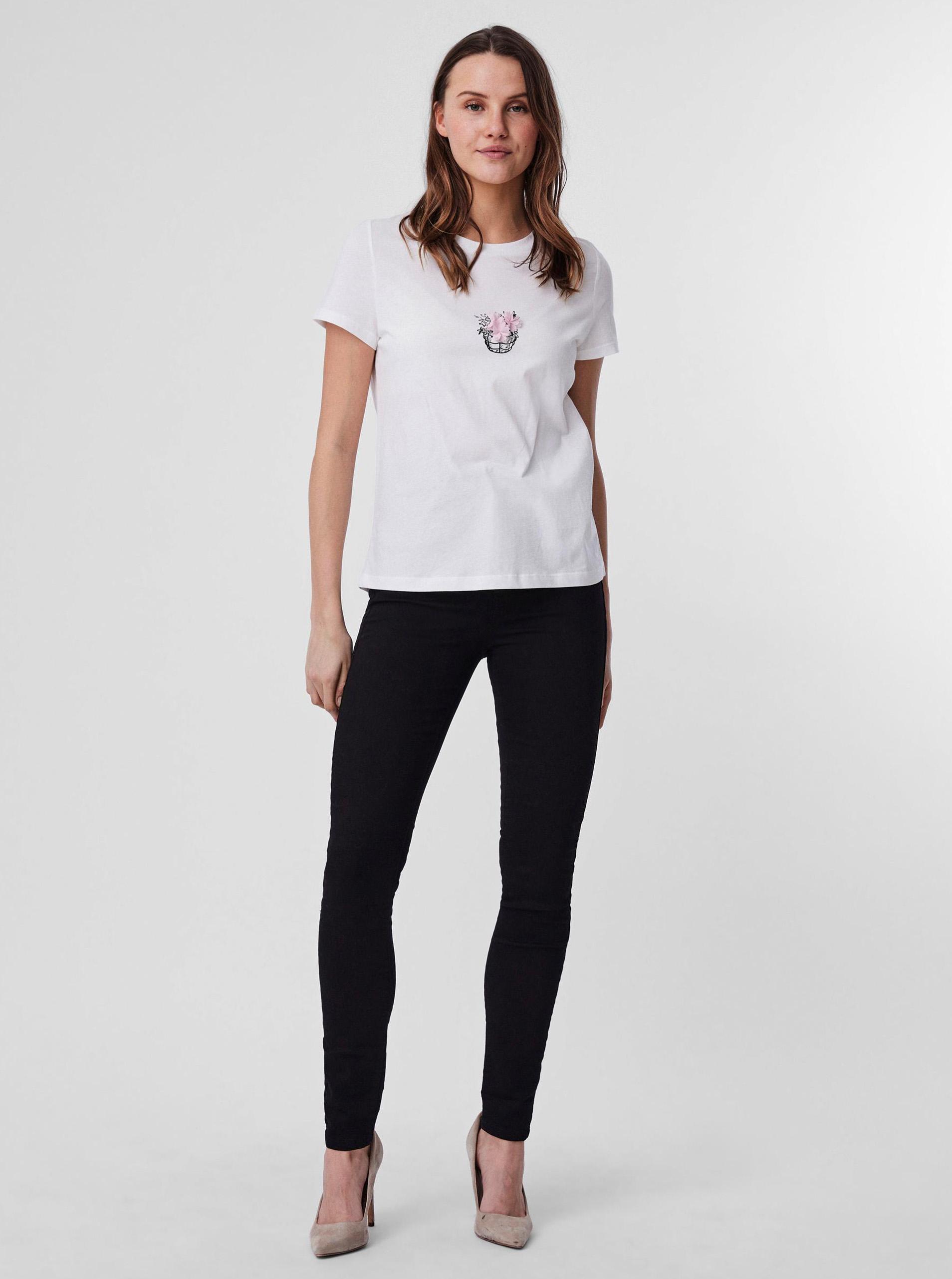 Vero Moda white T-shirt Donna