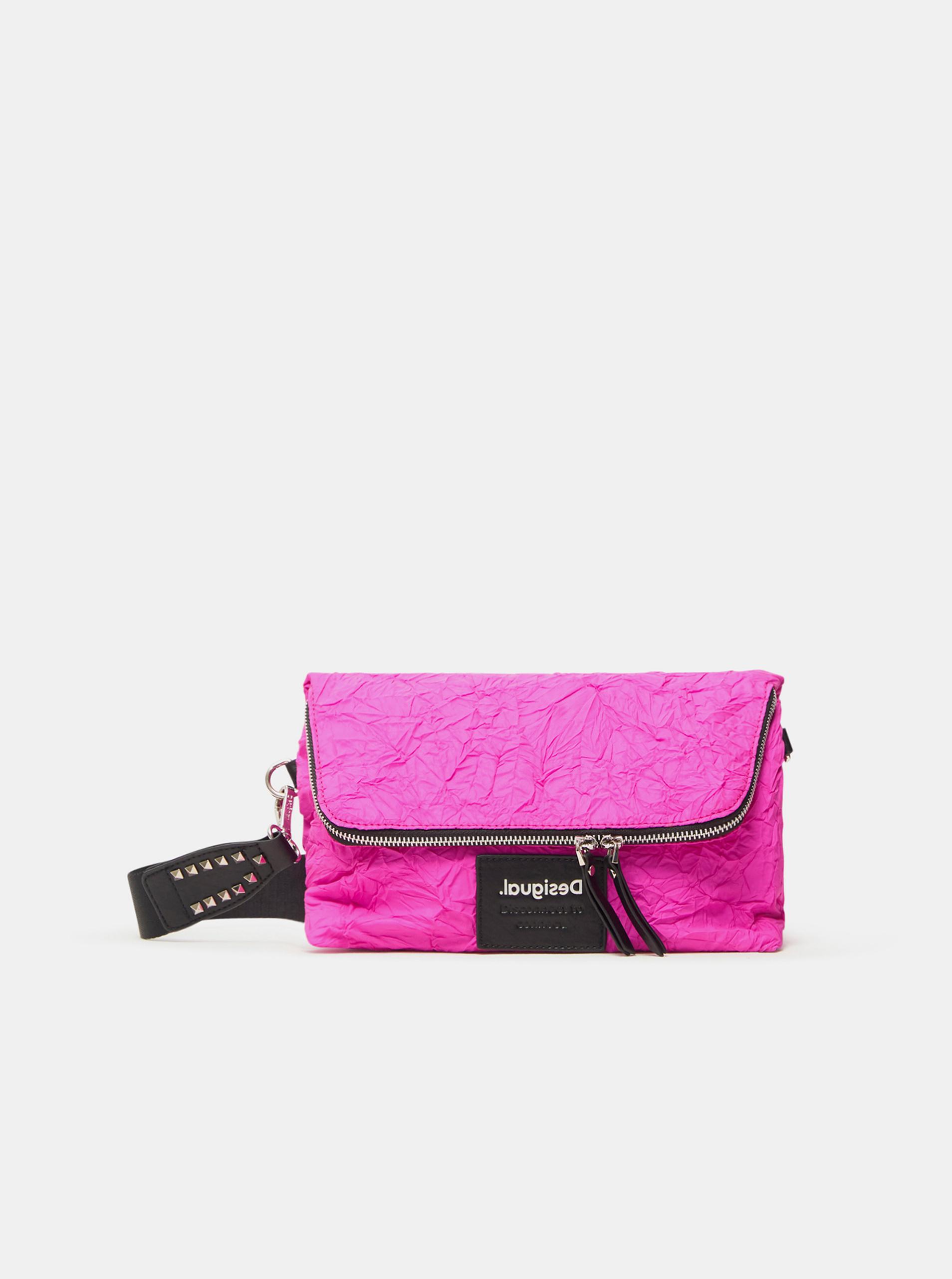 Desigual pink crossbody handbag Crush Venecia