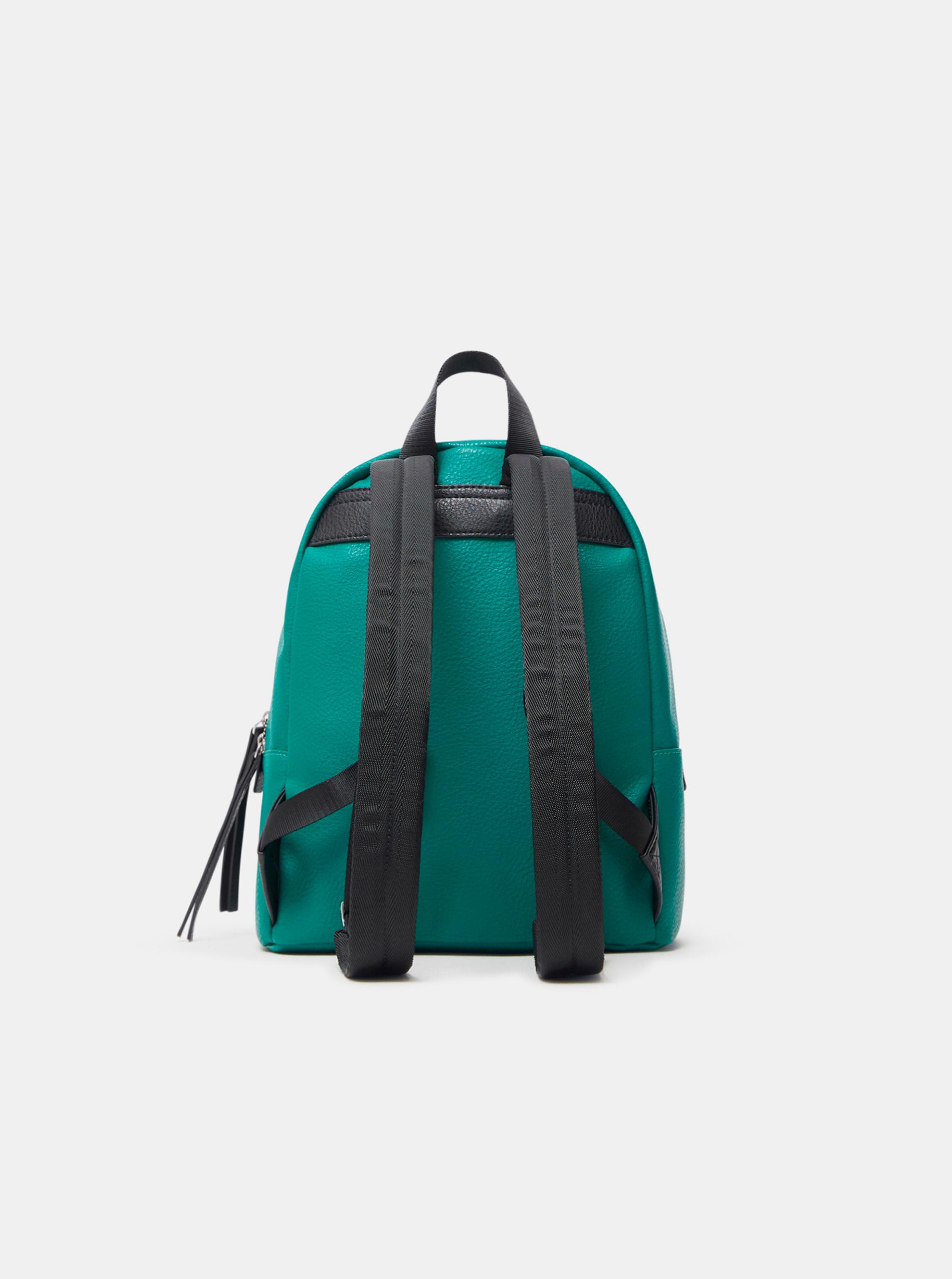 Desigual green backpack Embossed Half Mombasa Mini