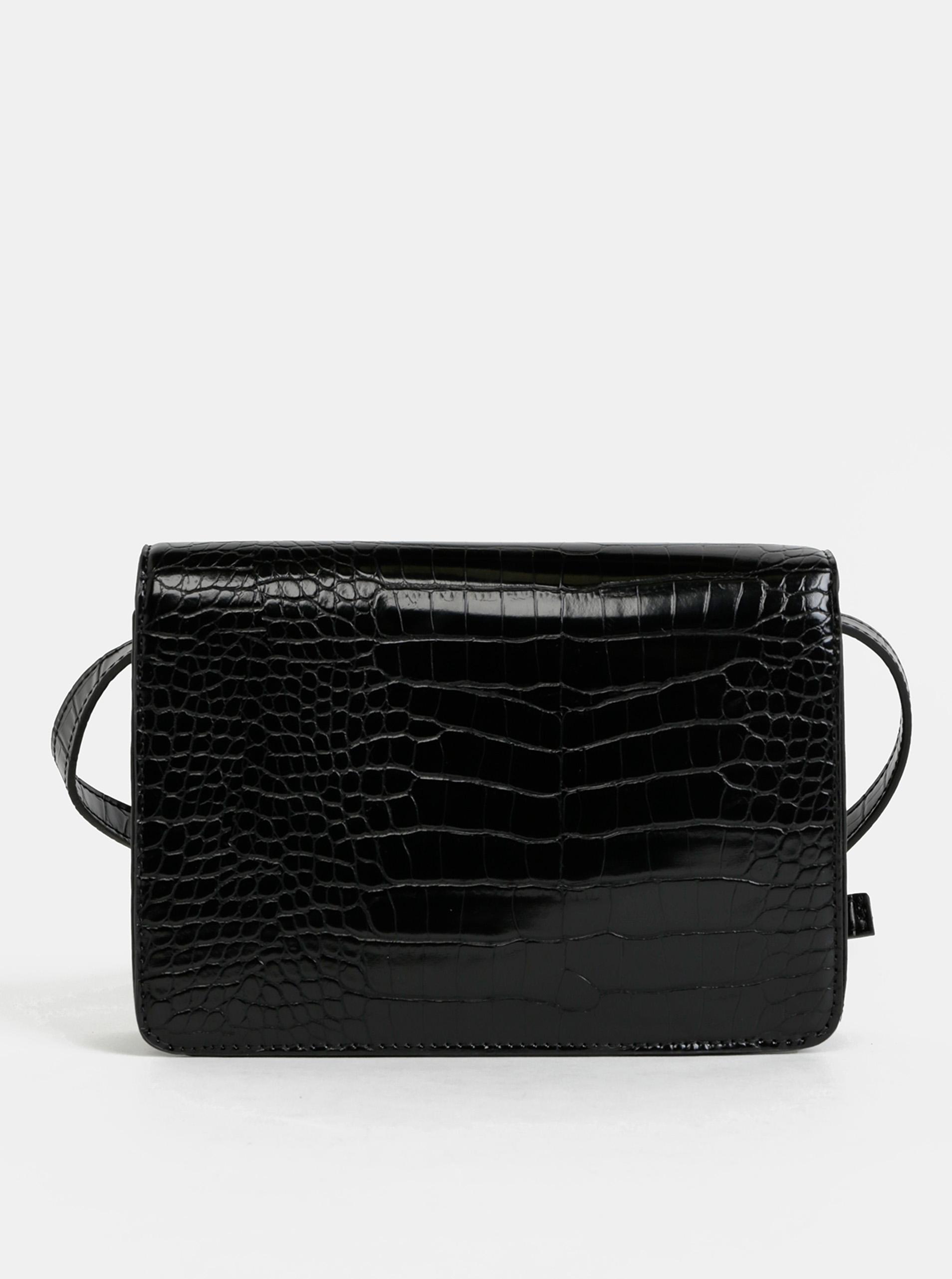 Pieces black crossbody handbag Julie