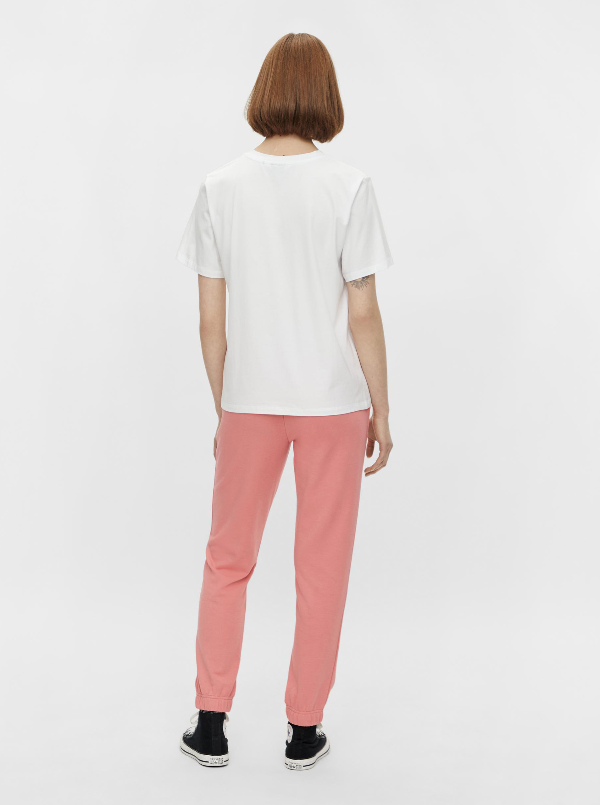 Pieces white T-shirt Niru