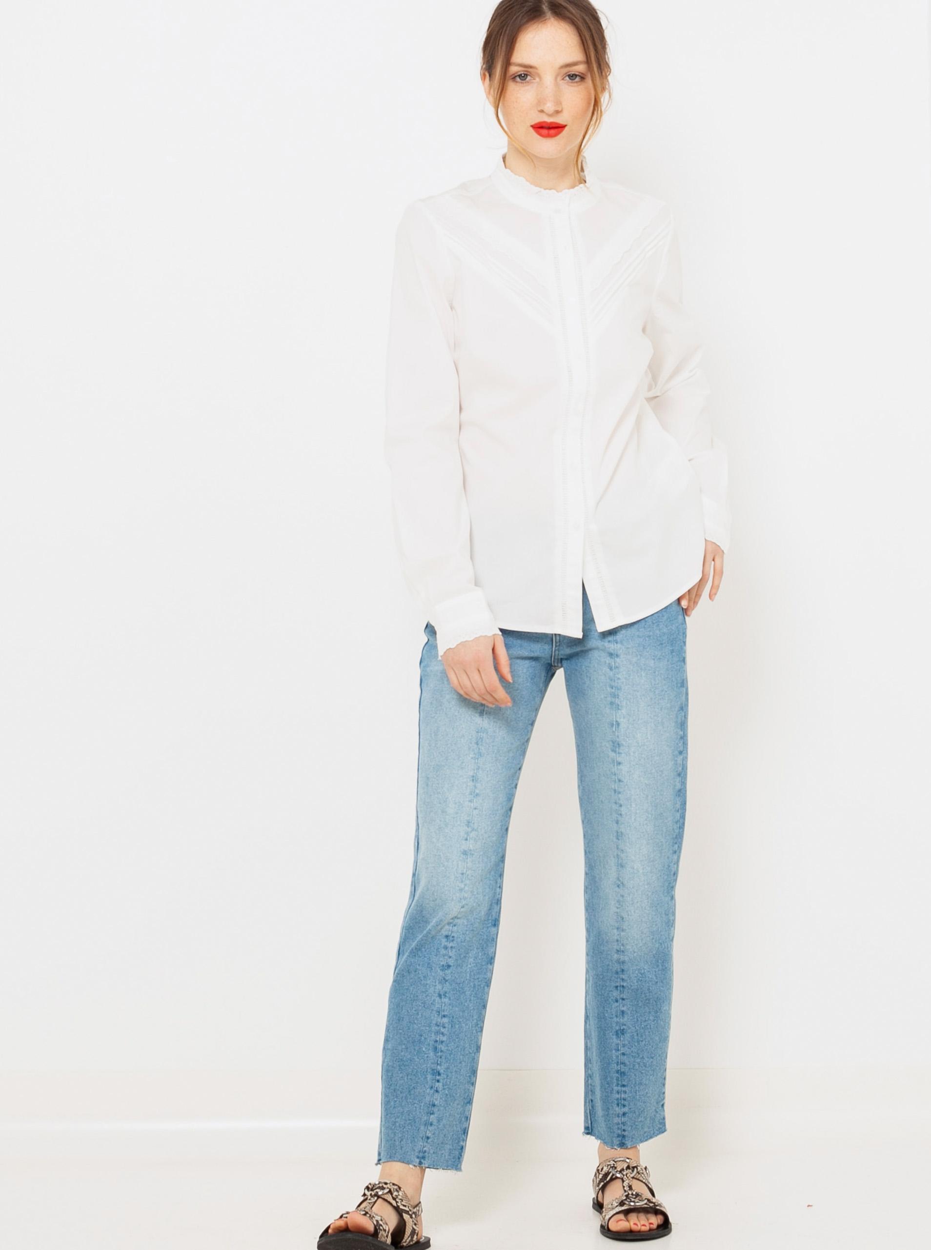 CAMAIEU white blouse