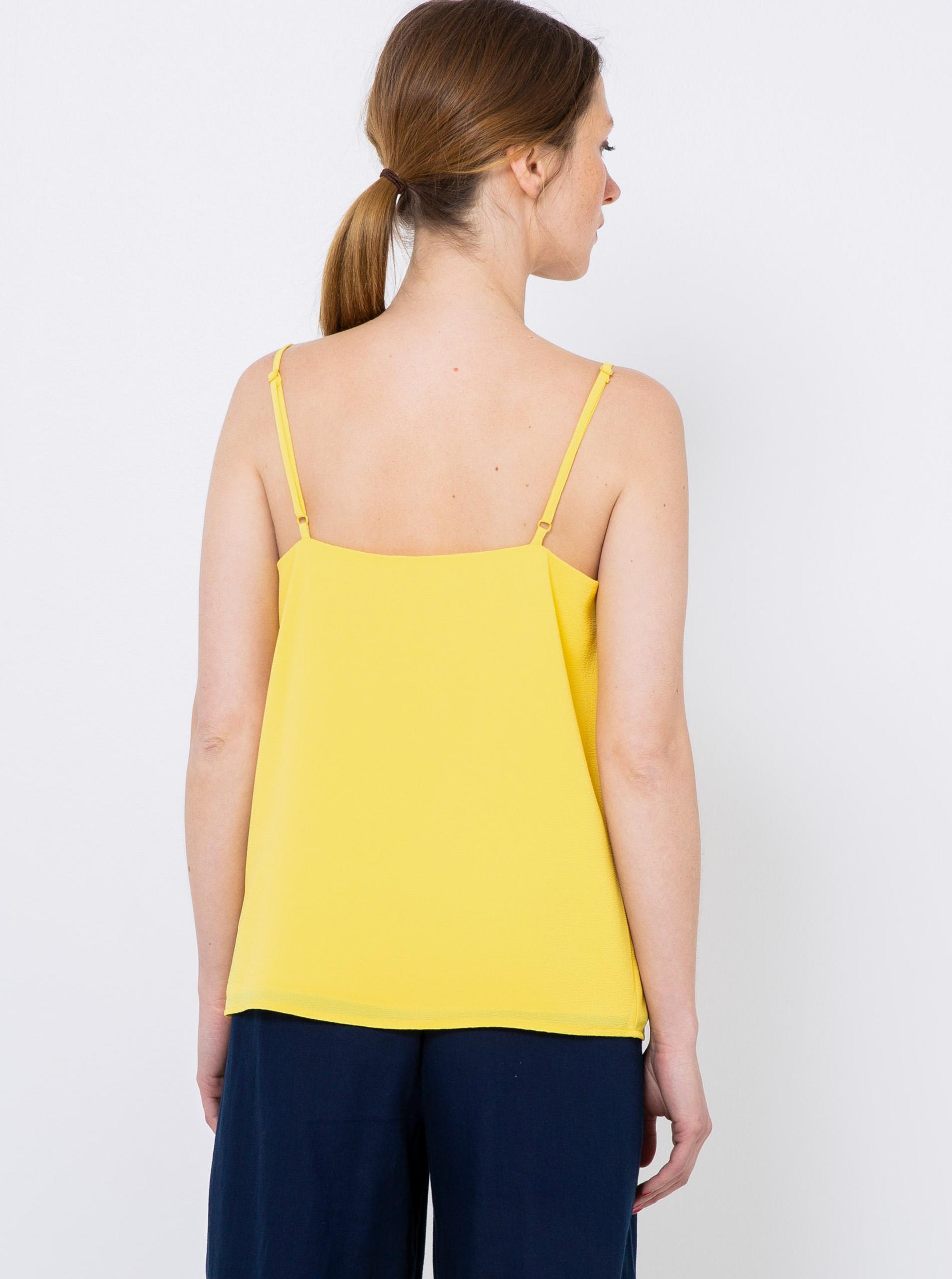 CAMAIEU yellow women´s top